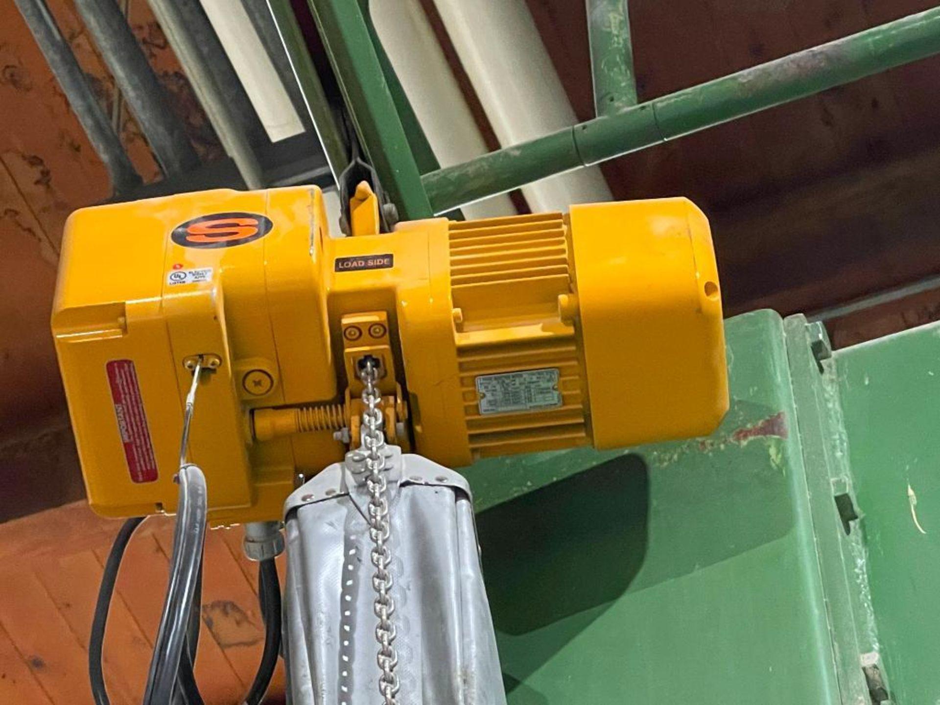 Harrington .25 ton chain hoist - Image 7 of 10