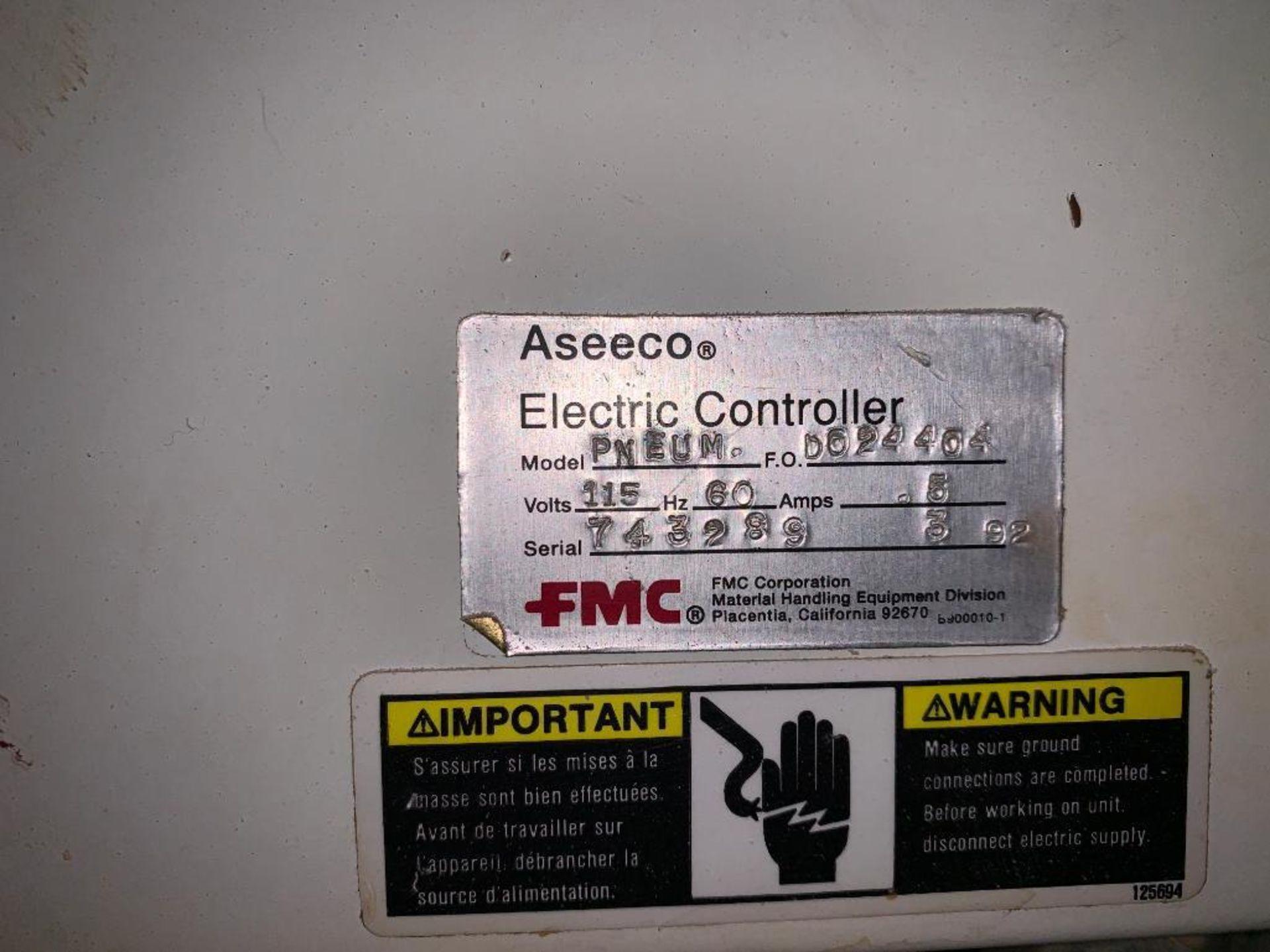 Aseeco mild steel cone bottom bulk storage bin - Image 12 of 16