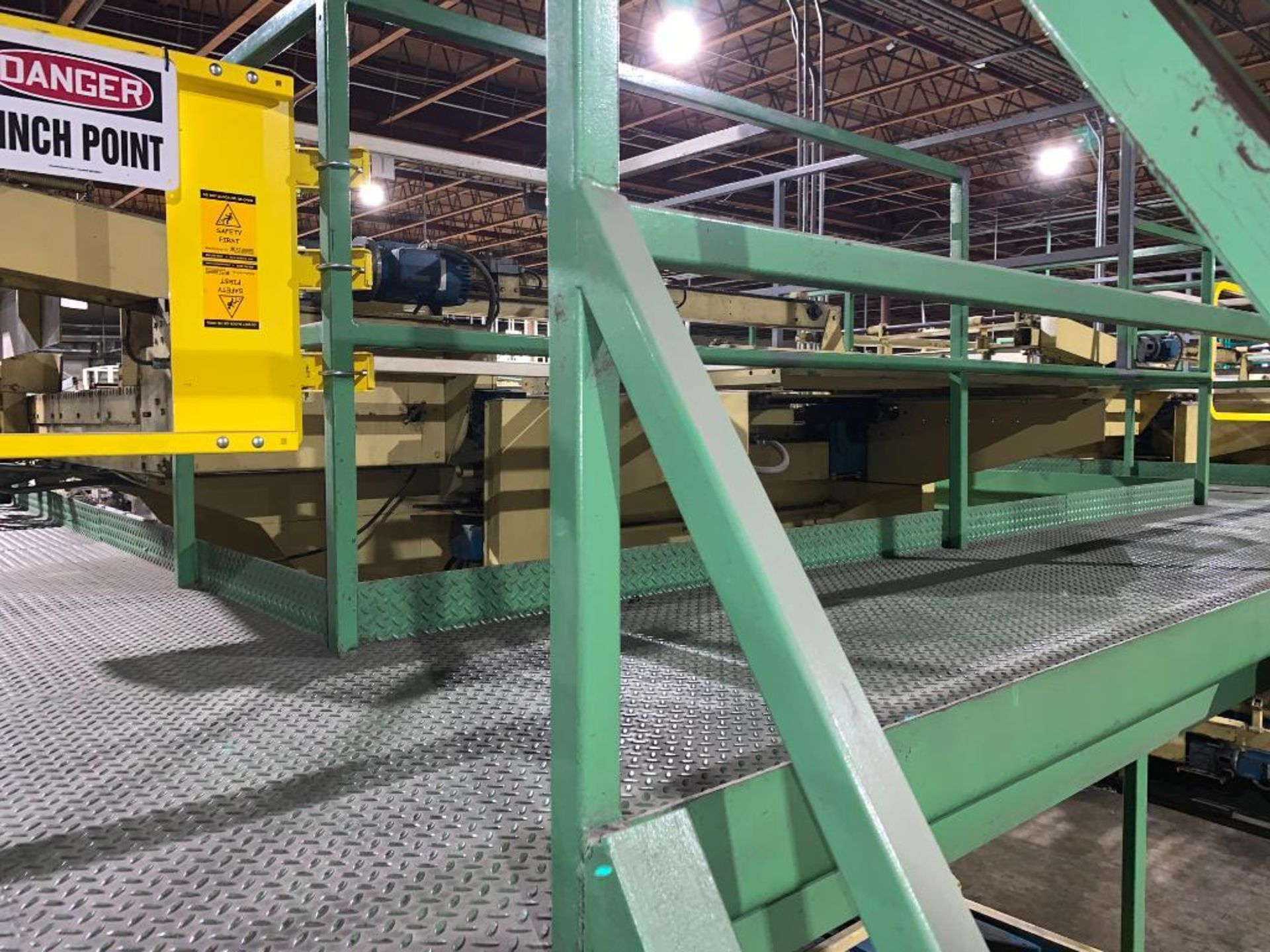 1992 Currie top to bottom palletizer, machine number LSP-5-1176 - Image 44 of 56