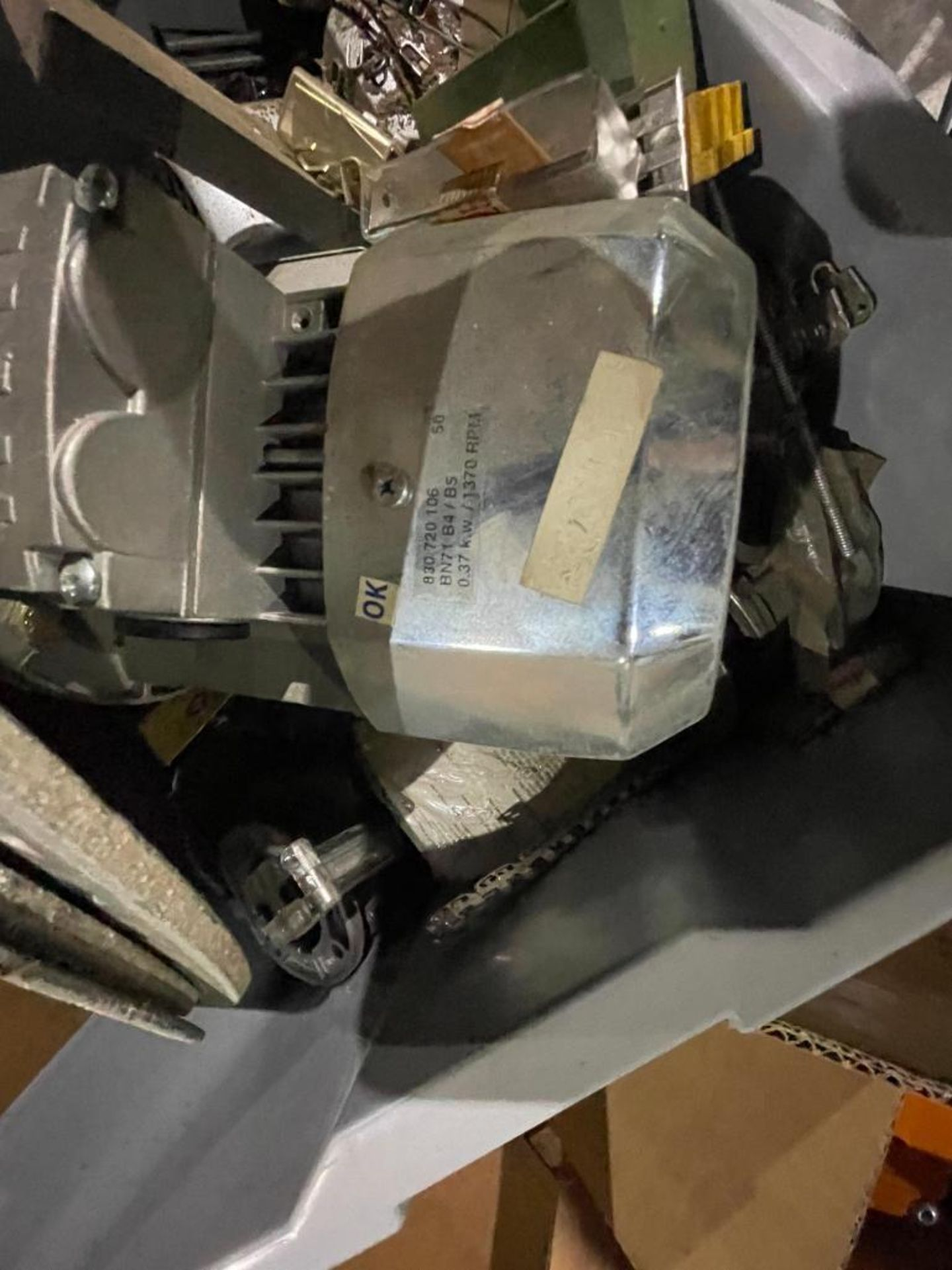 pallet of new and used motors and drives - Image 2 of 11
