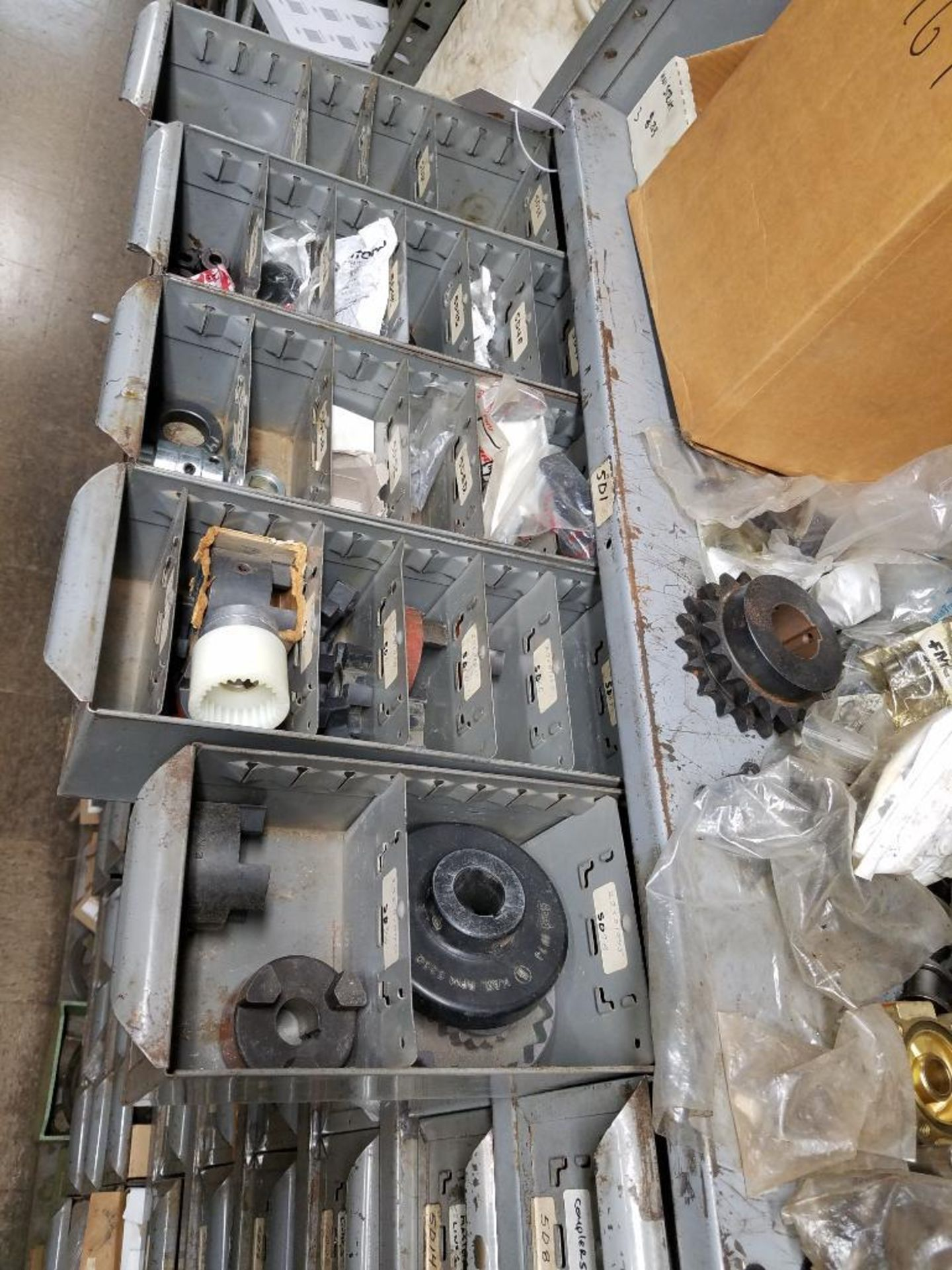 bushings, sheaves, links, chain, couplers, sprockets, and pulleys - Image 23 of 24