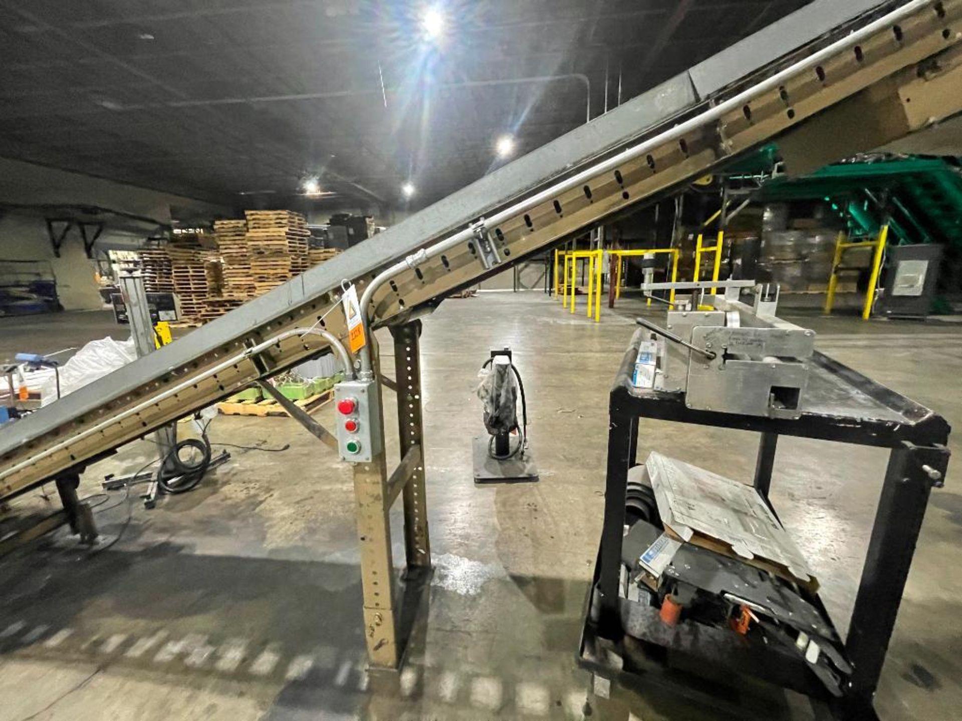 Buschman mild steel incline conveyor - Image 4 of 11