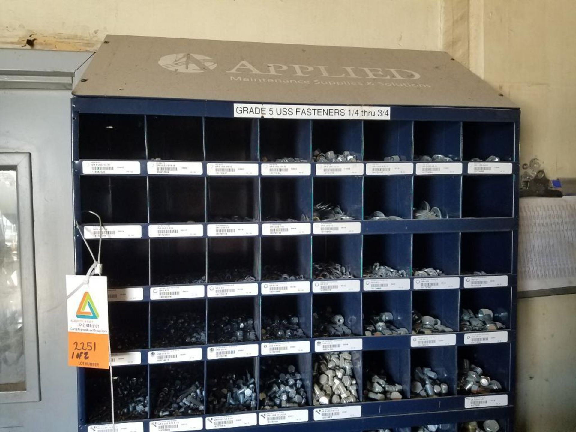 grade 5 nut and bolt bins - Image 2 of 4