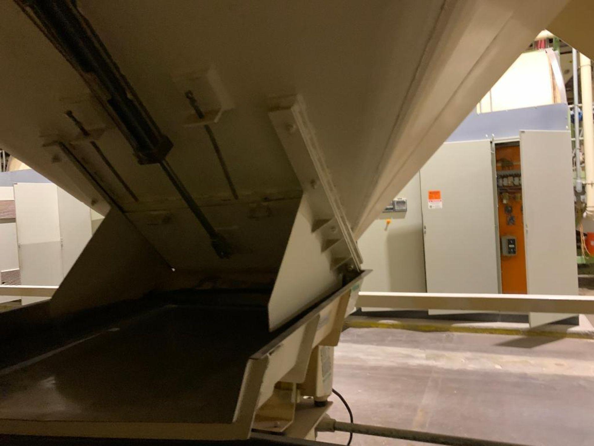 Aseeco mild steel cone bottom bulk storage bin - Image 19 of 27