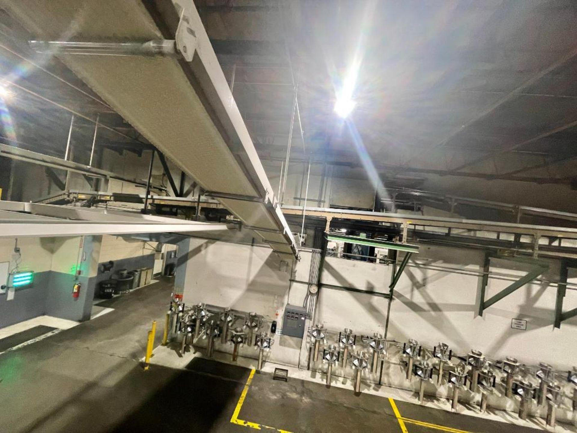 mild steel overhead belt conveyor - Image 7 of 8