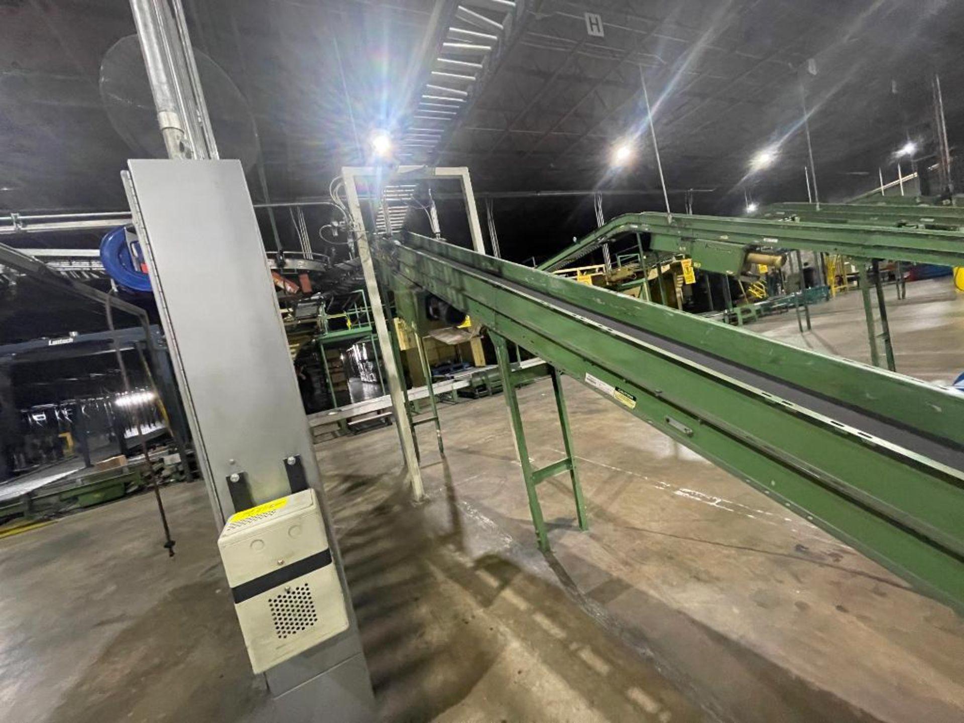 Buschman mild steel incline conveyor - Image 17 of 17