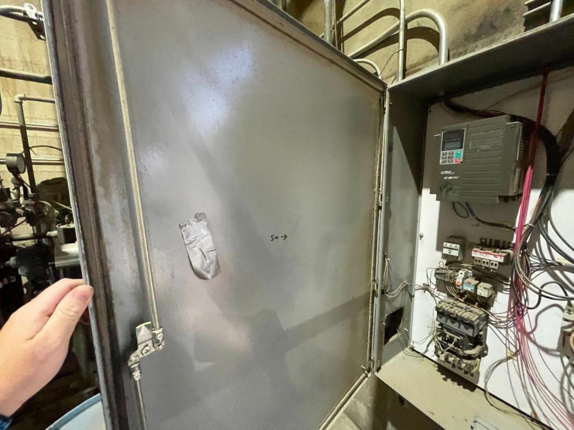 single door mild steel cabinet - Image 7 of 12