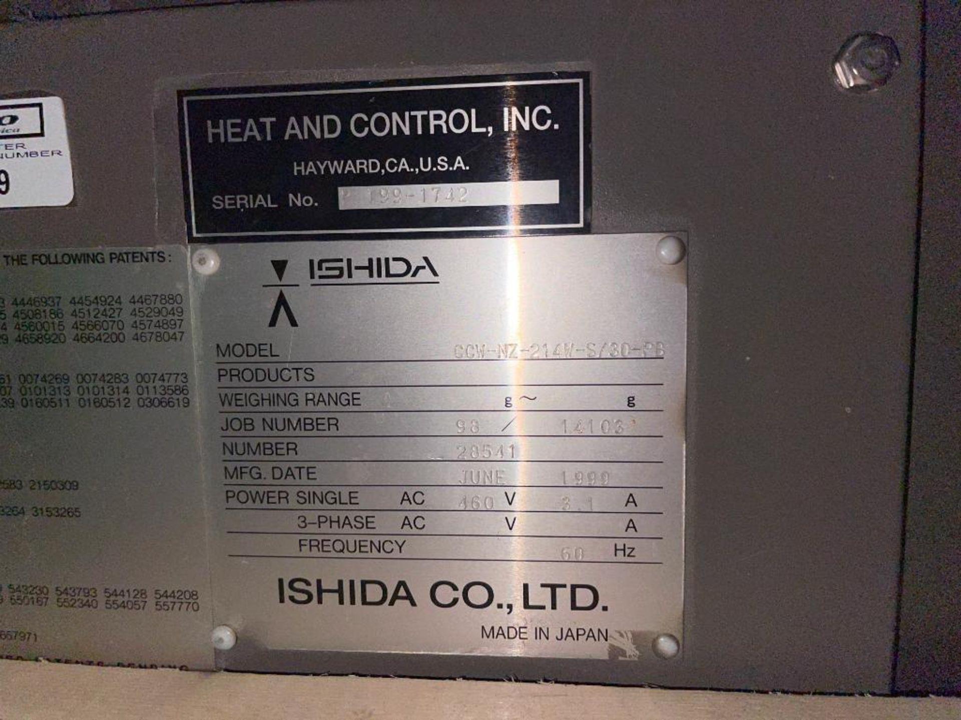1999 Ishida scale, 14-head - Image 11 of 13
