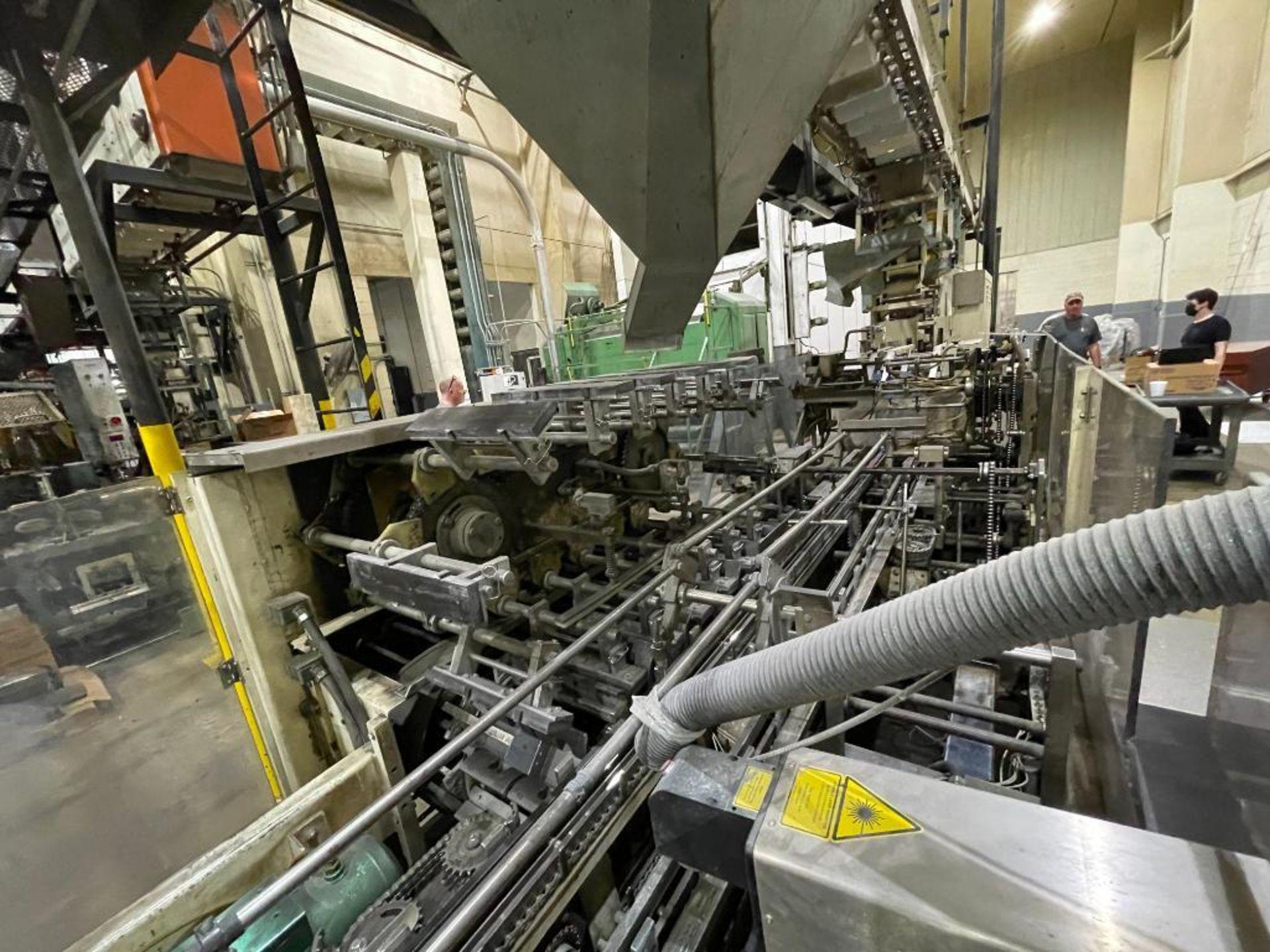 Hayes Machine Co. long goods cartoner, model 51BB - Image 6 of 64