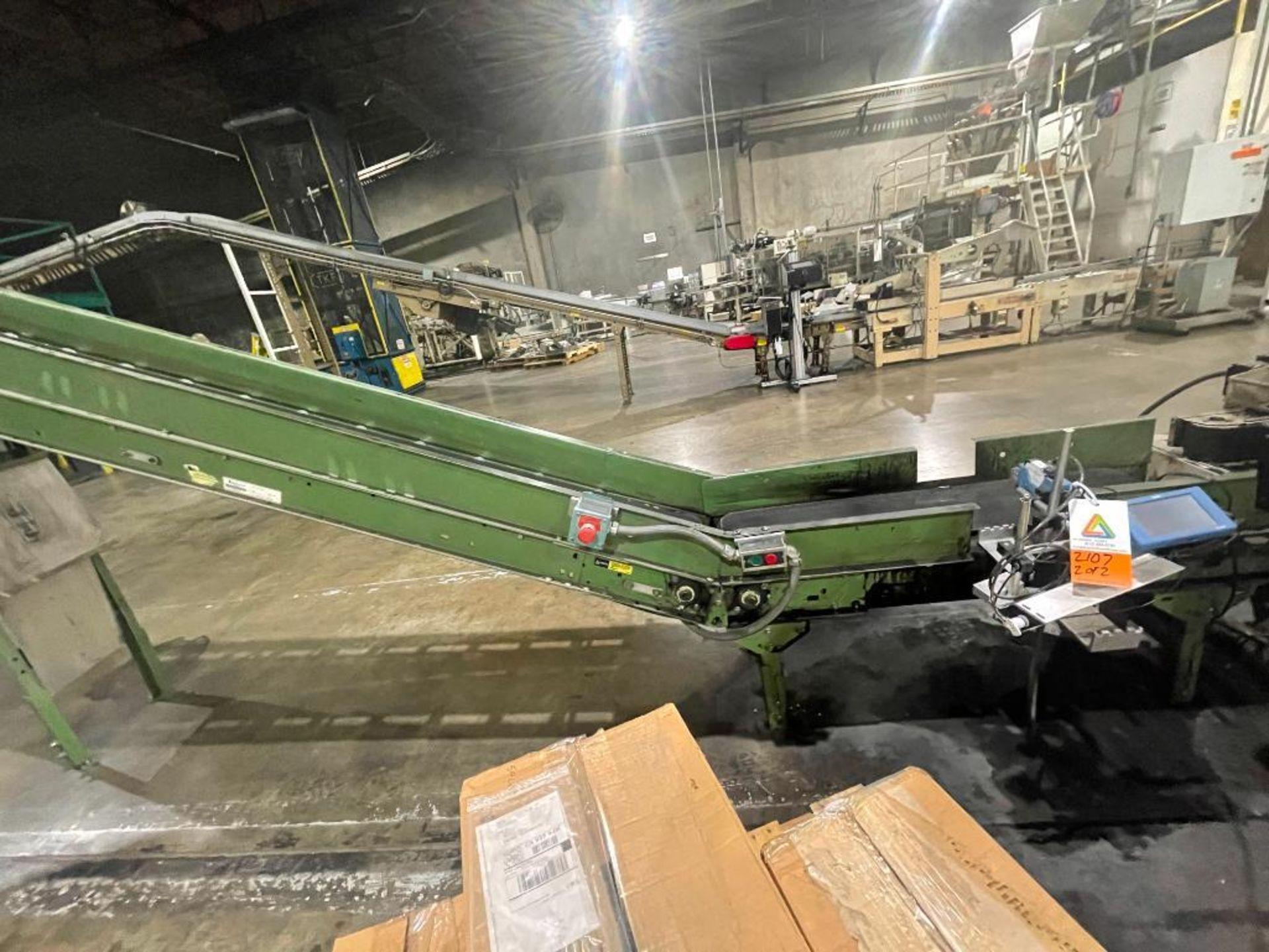 Buschman mild steel incline conveyor - Image 2 of 15