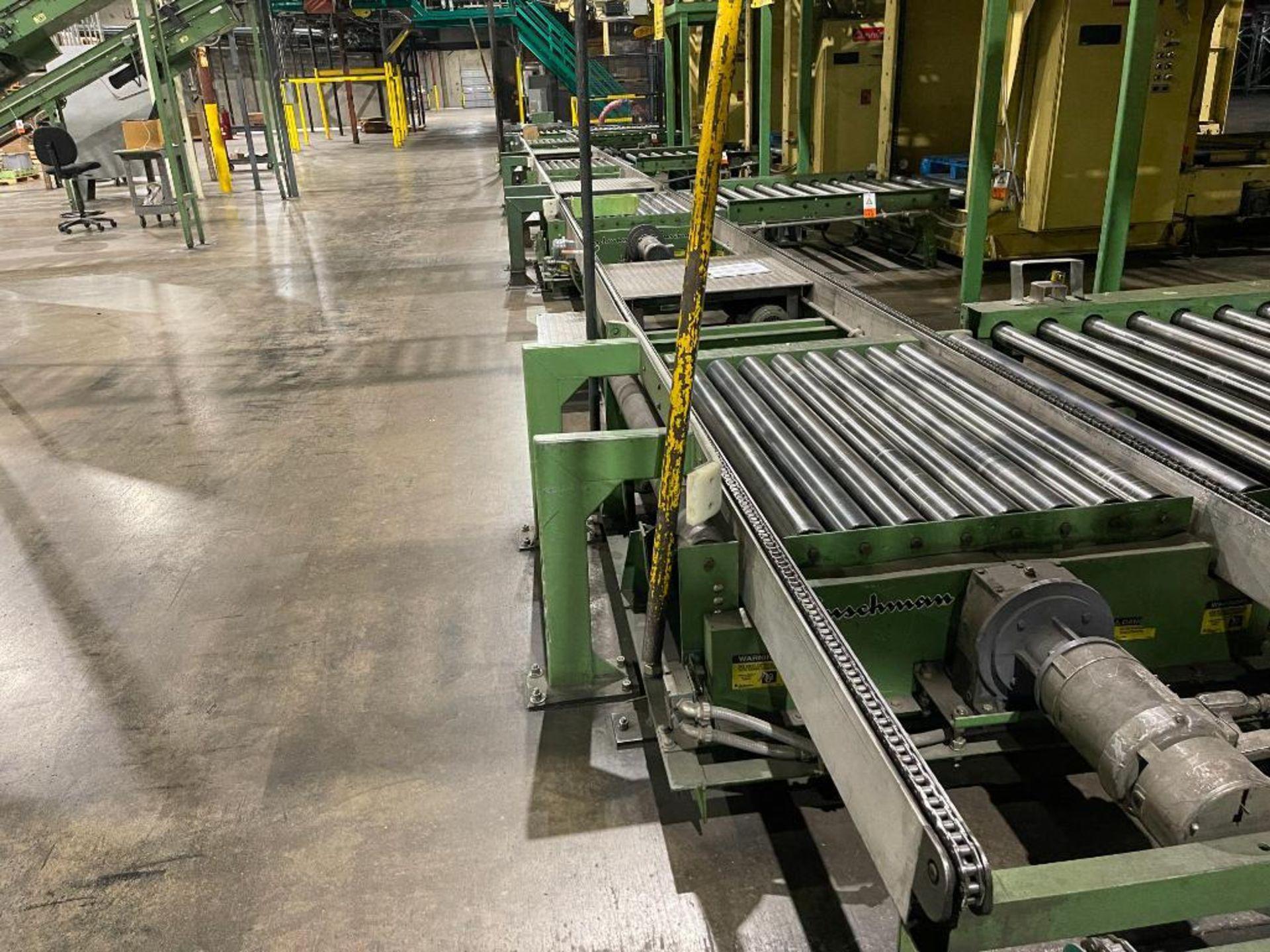 Buschman full pallet conveyor - Image 2 of 10
