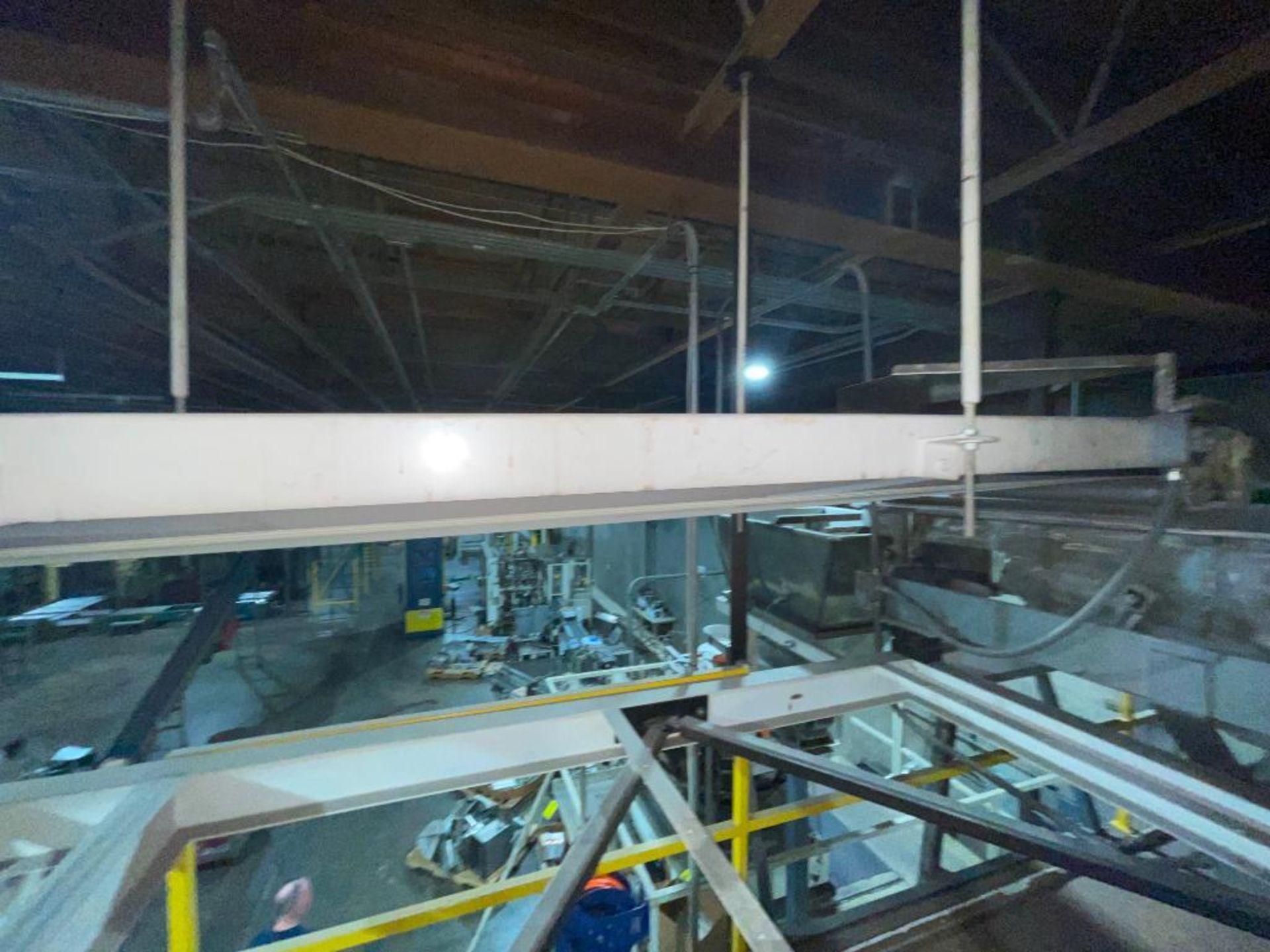 mild steel overhead belt conveyor - Image 7 of 10