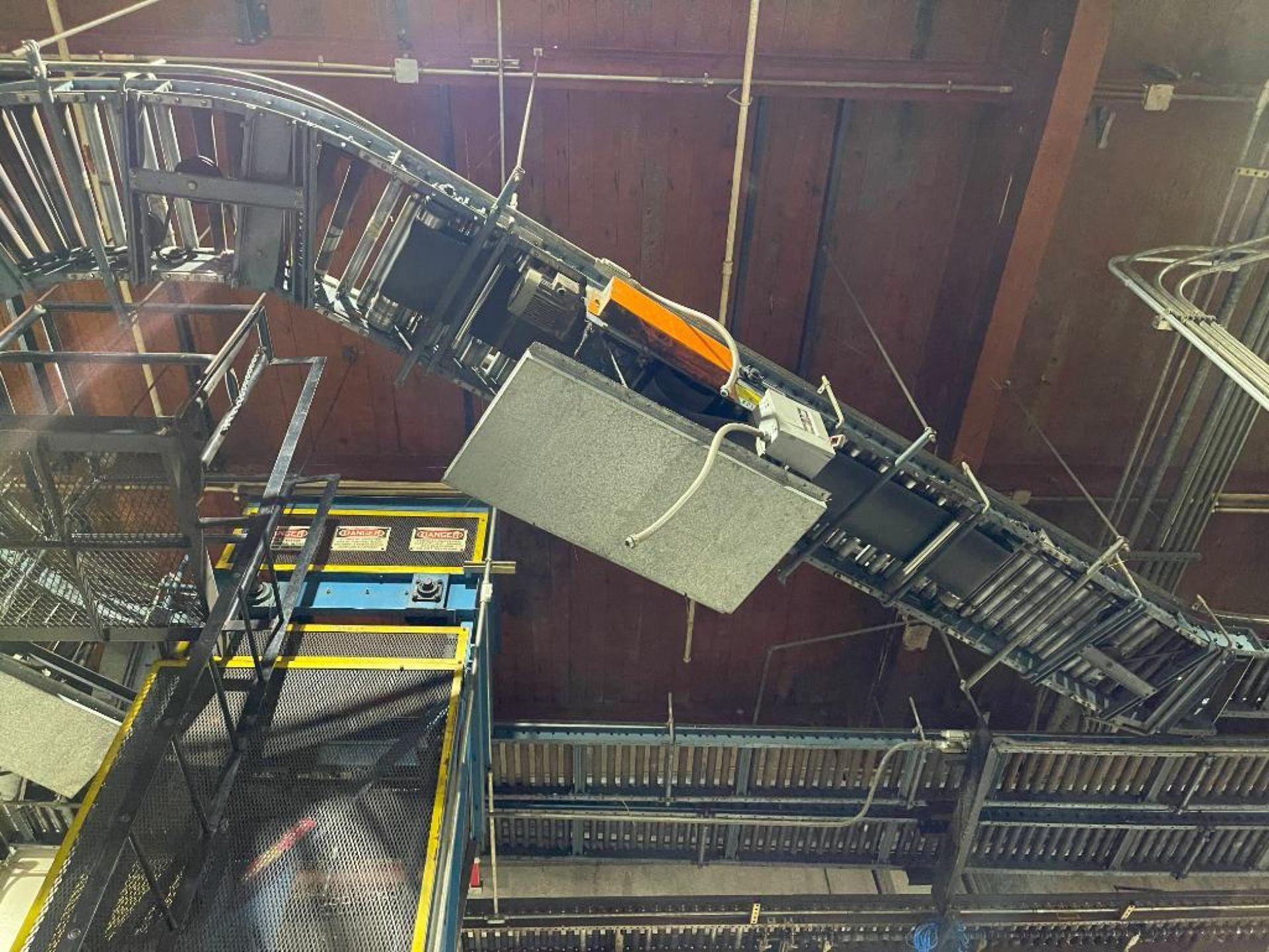overhead power case conveyor - Image 2 of 9