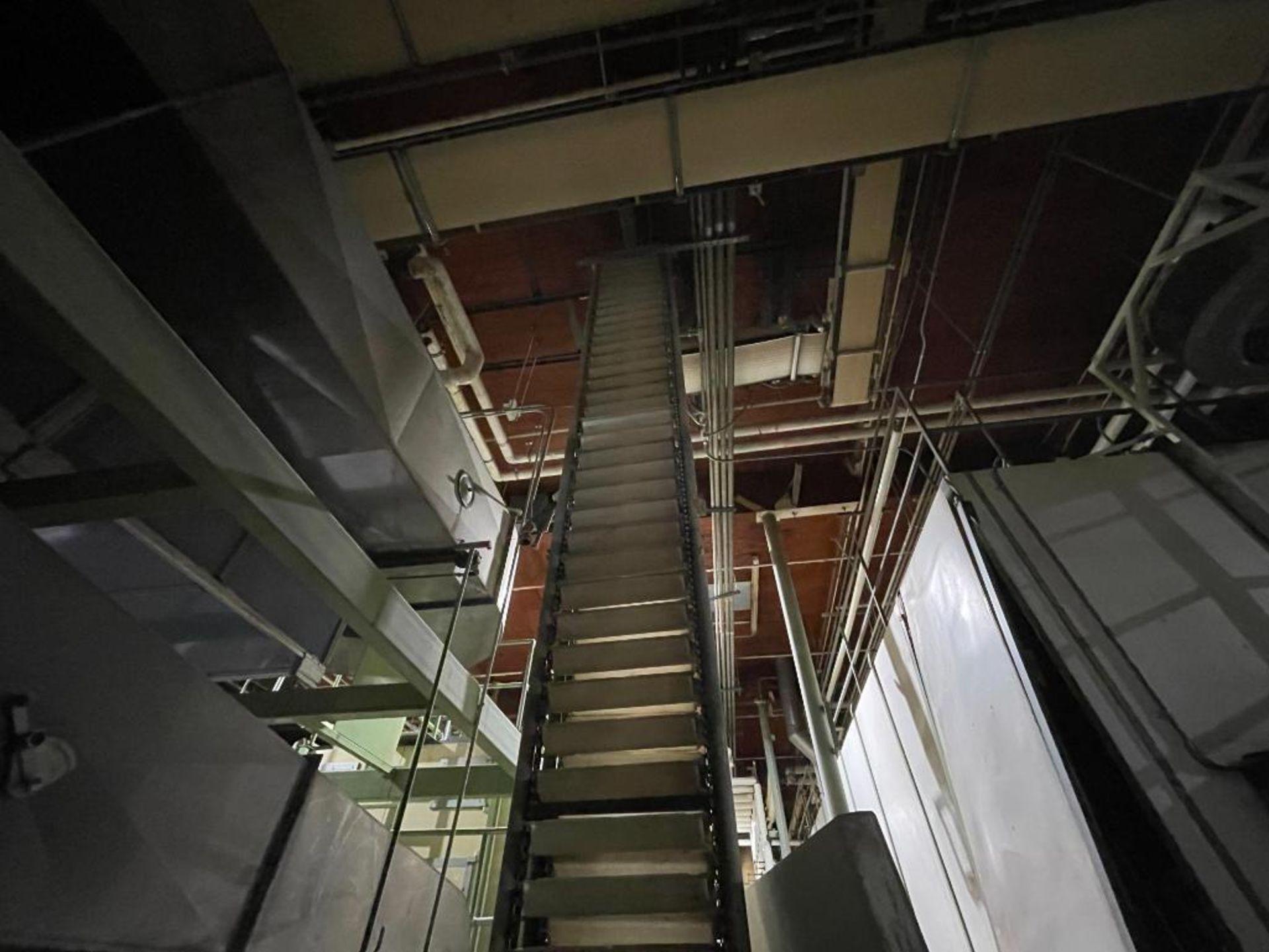 Aseeco overlapping bucket elevator - Image 4 of 14