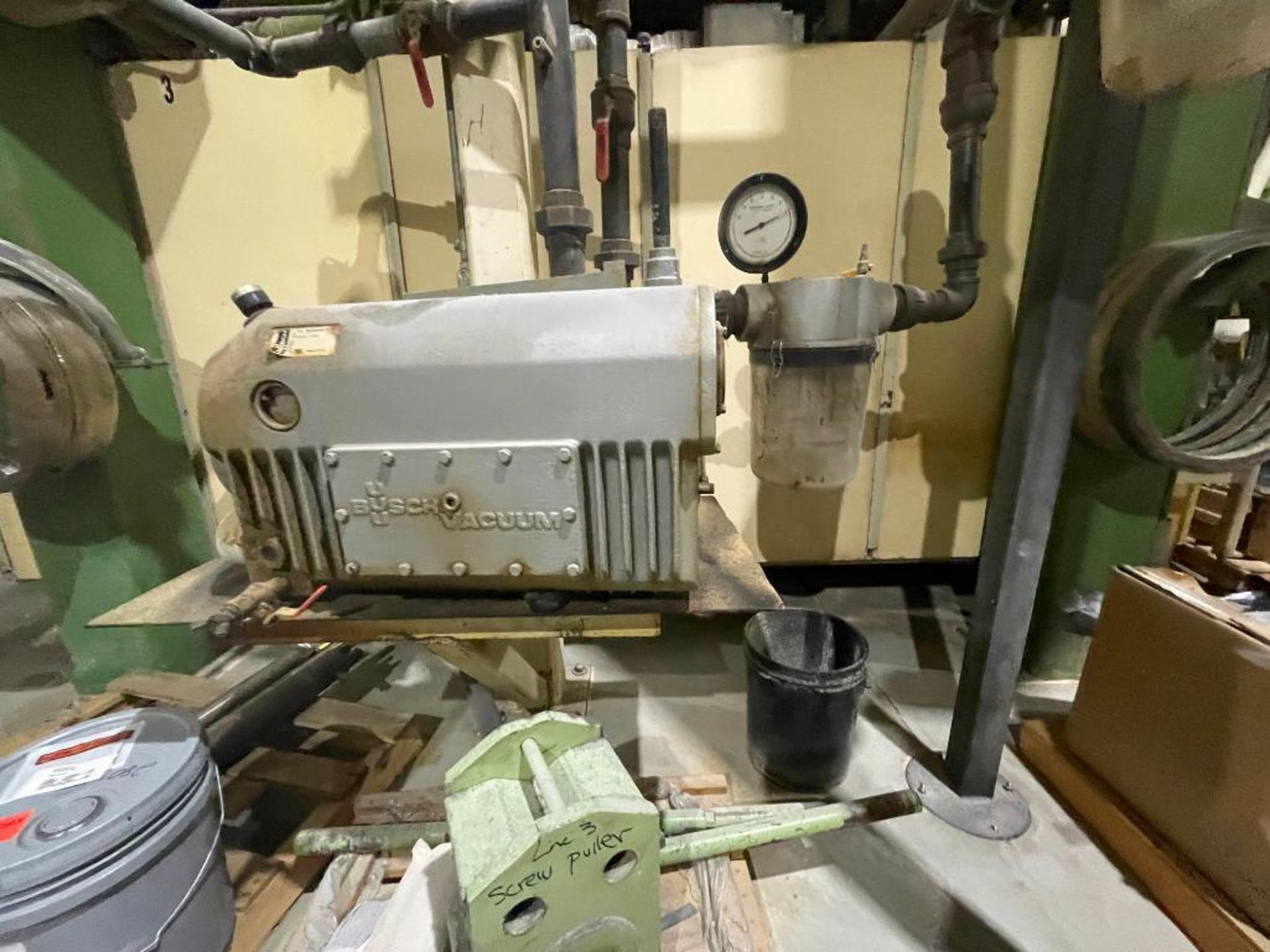 Busch single stage rotary vacuum pump - Image 11 of 14