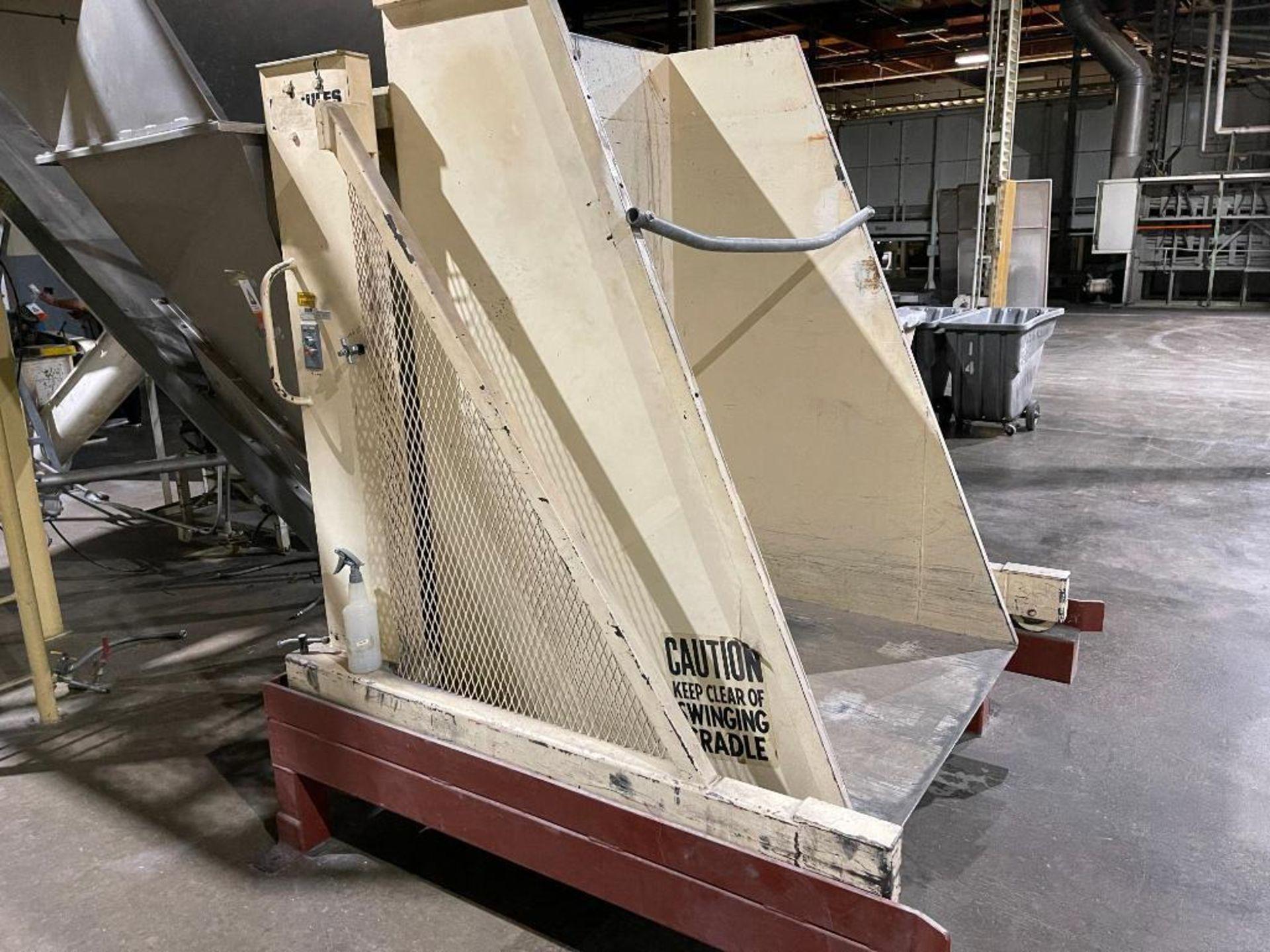 Hercules tote dump, 2,000 LB capacity - Image 5 of 11