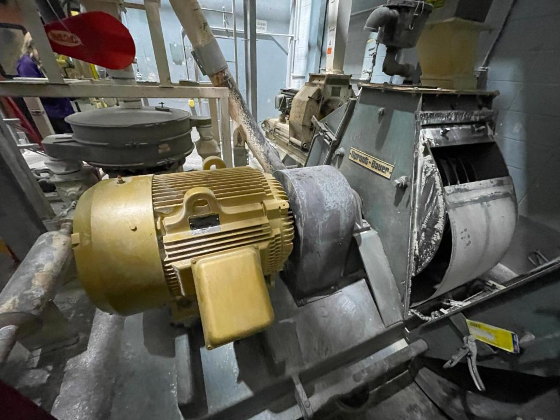 Sprout-Bauer hammermill, 100 hp - Image 4 of 25