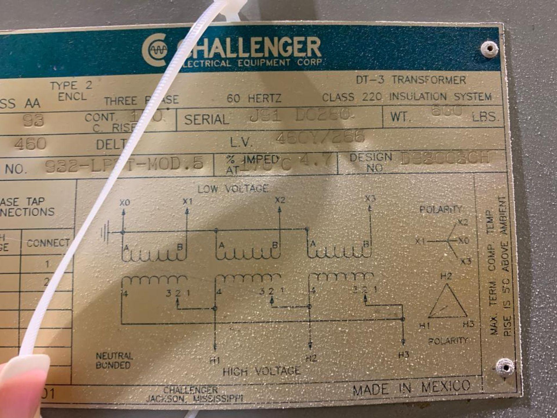 Challenger 93KVA transformer - Image 8 of 11