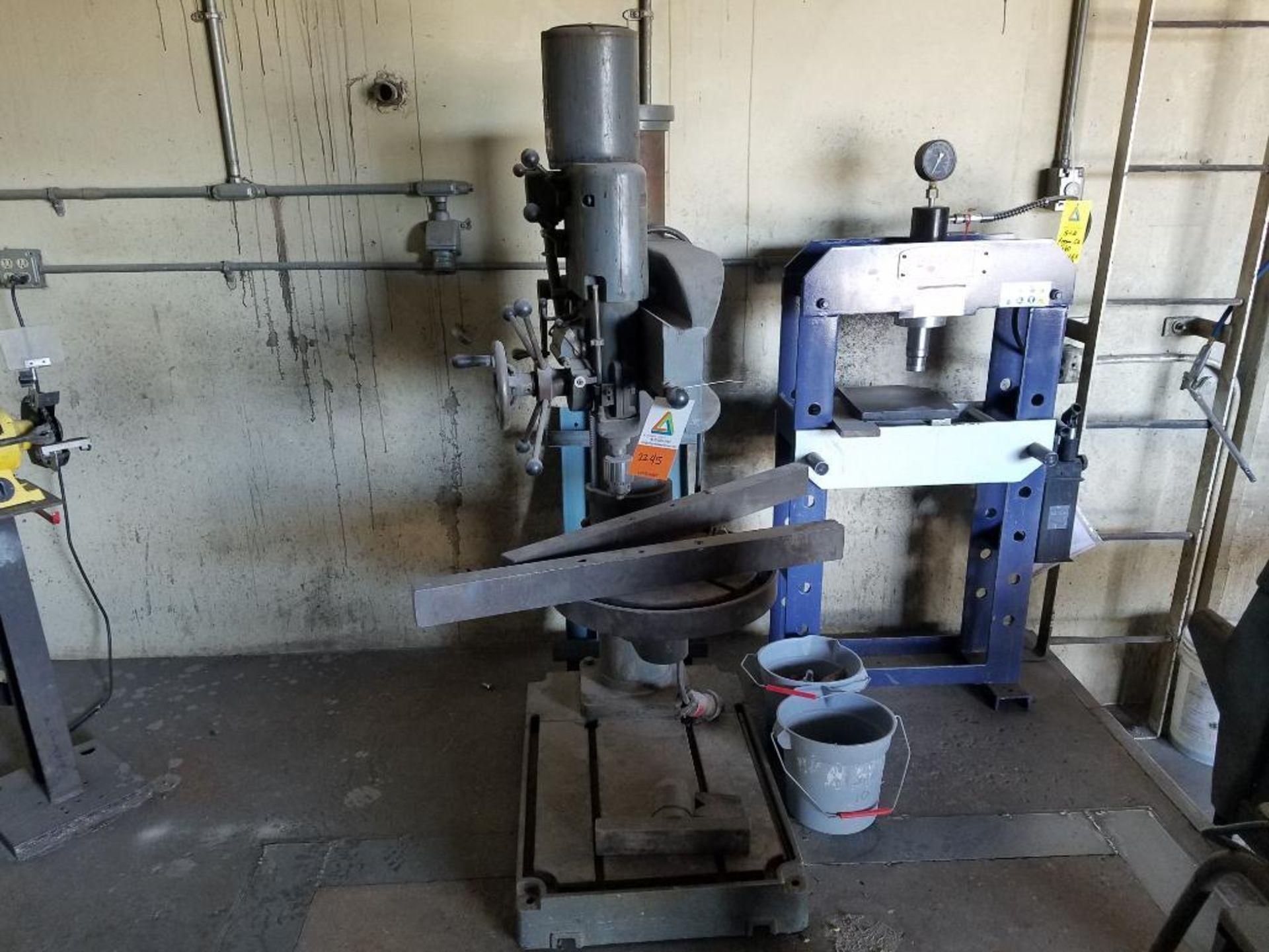 Abarboga Maskiner radial arm drill