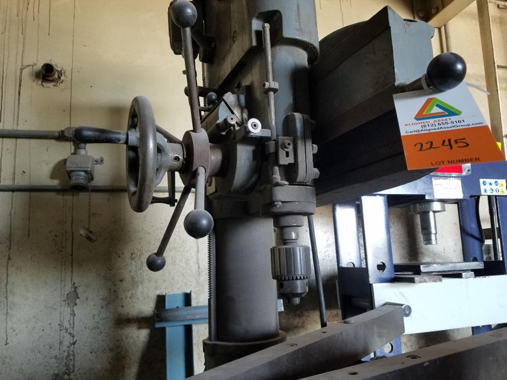Abarboga Maskiner radial arm drill - Image 4 of 5