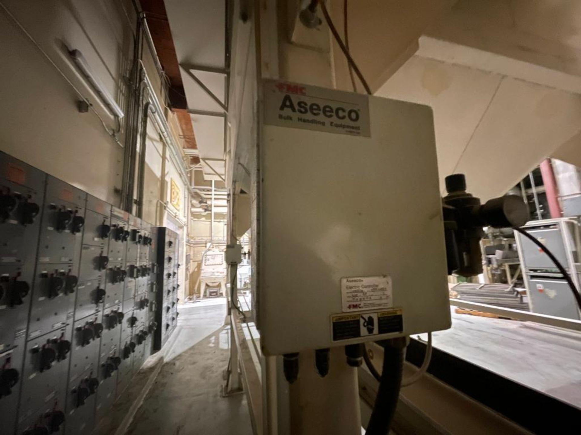 Aseeco mild steel cone bottom bulk storage bin - Image 17 of 28