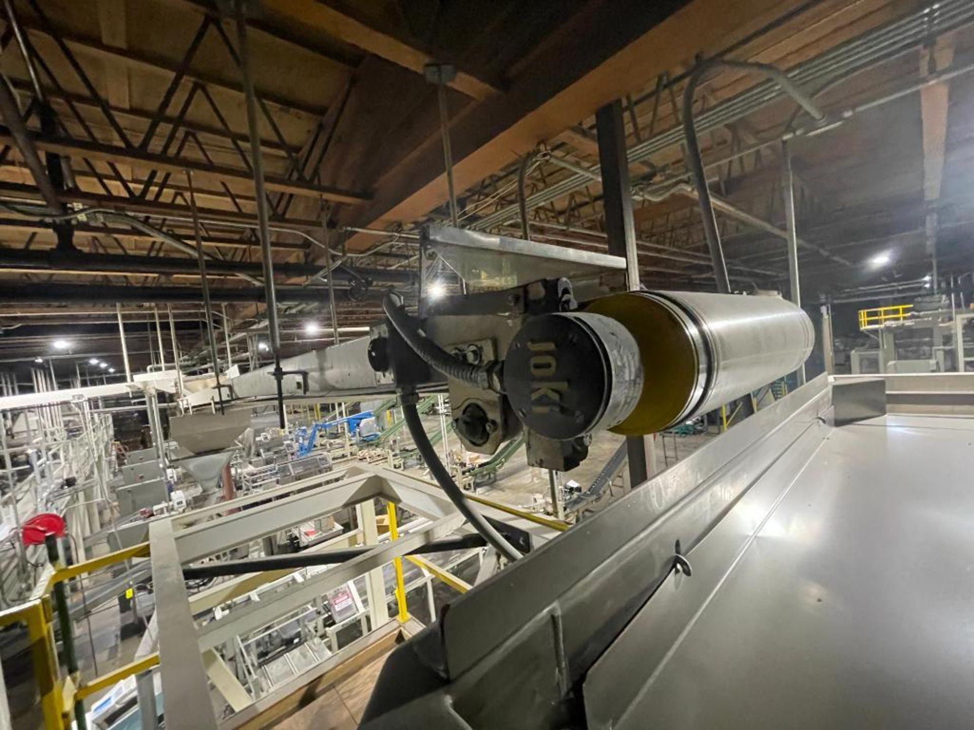 mild steel overhead belt conveyor - Image 2 of 10