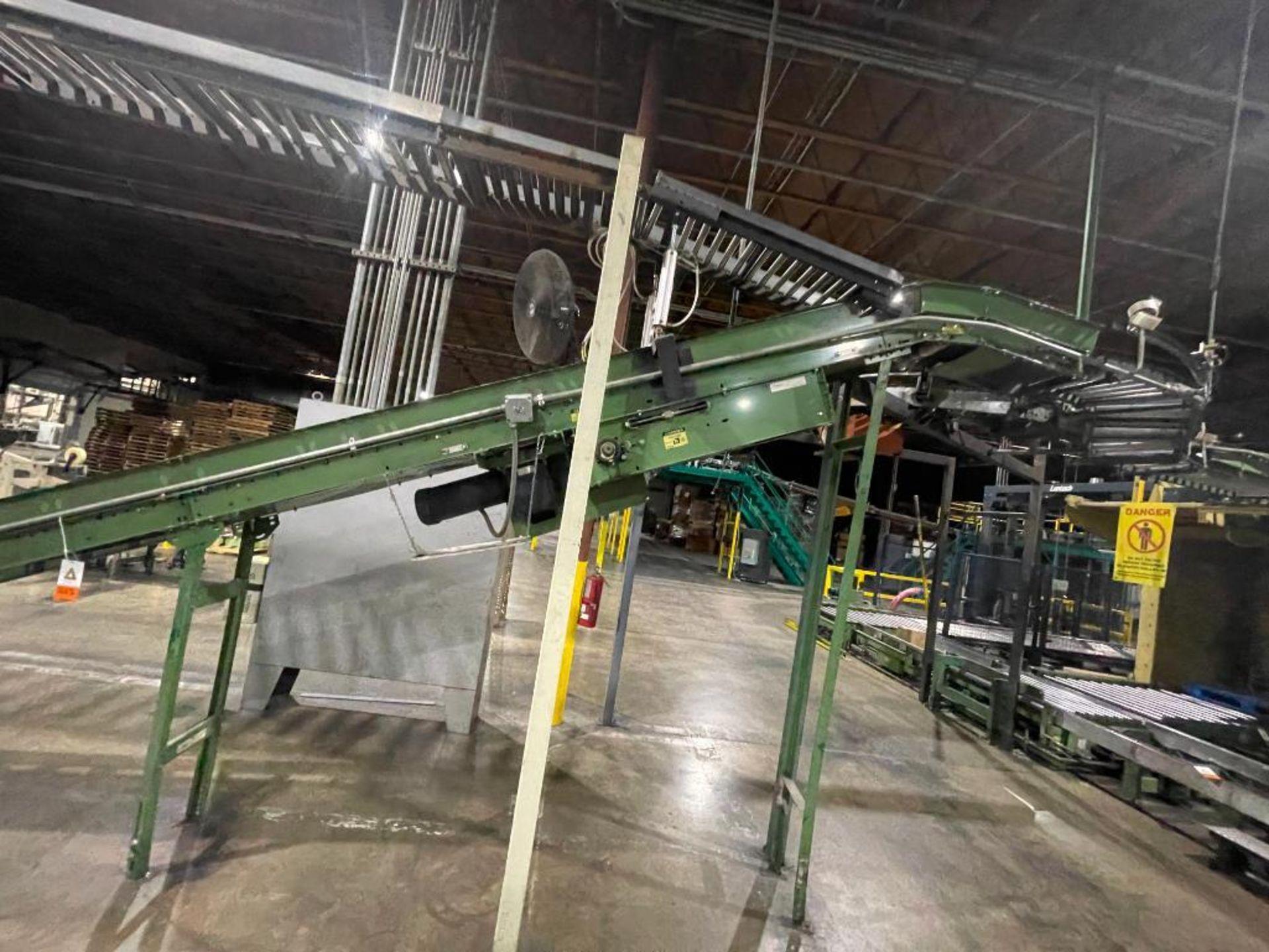 Buschman mild steel incline conveyor - Image 5 of 17