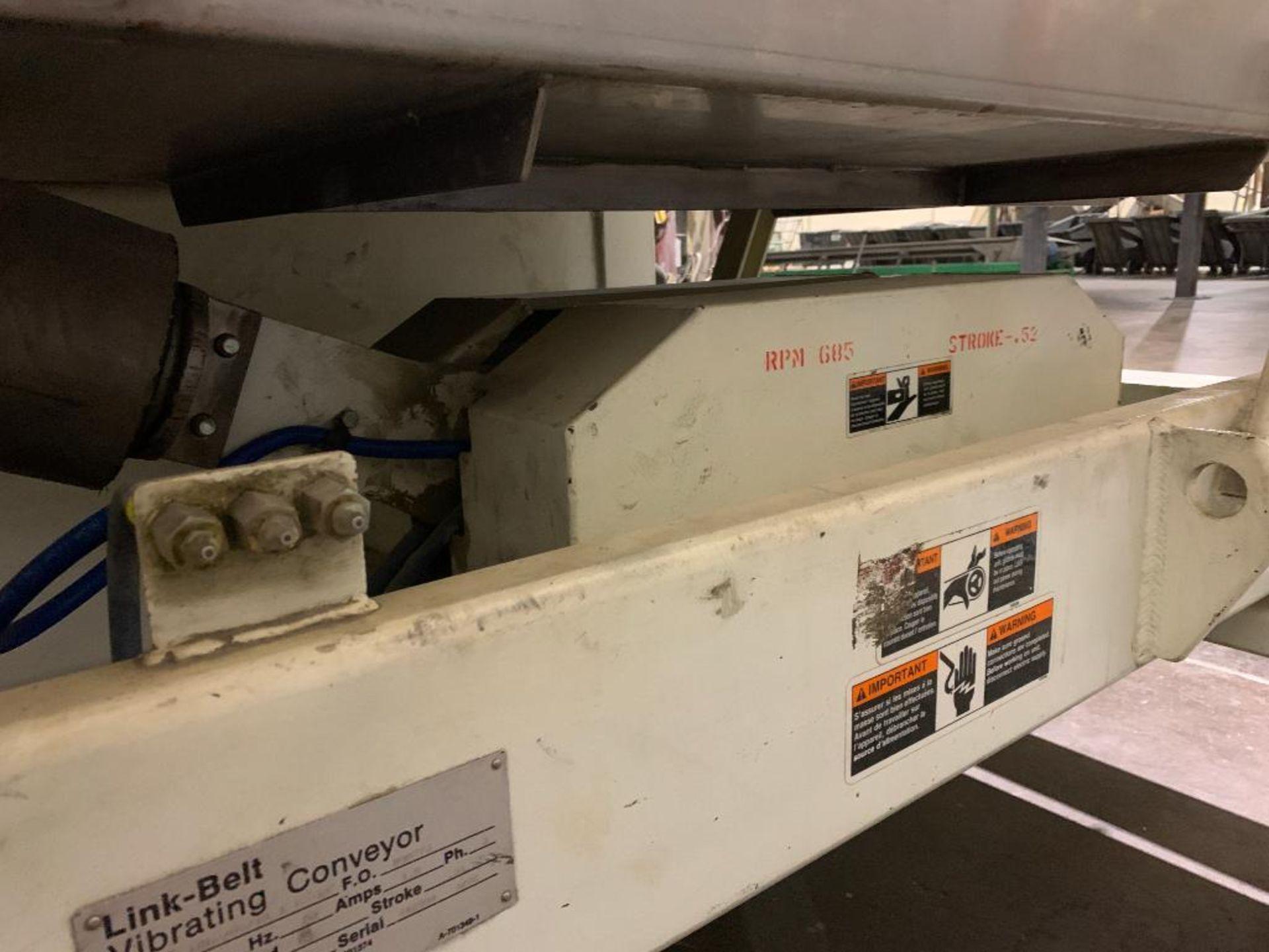 1992 Link-Belt vibratory conveyor, model LBL2405-10X12-10 - Image 23 of 34