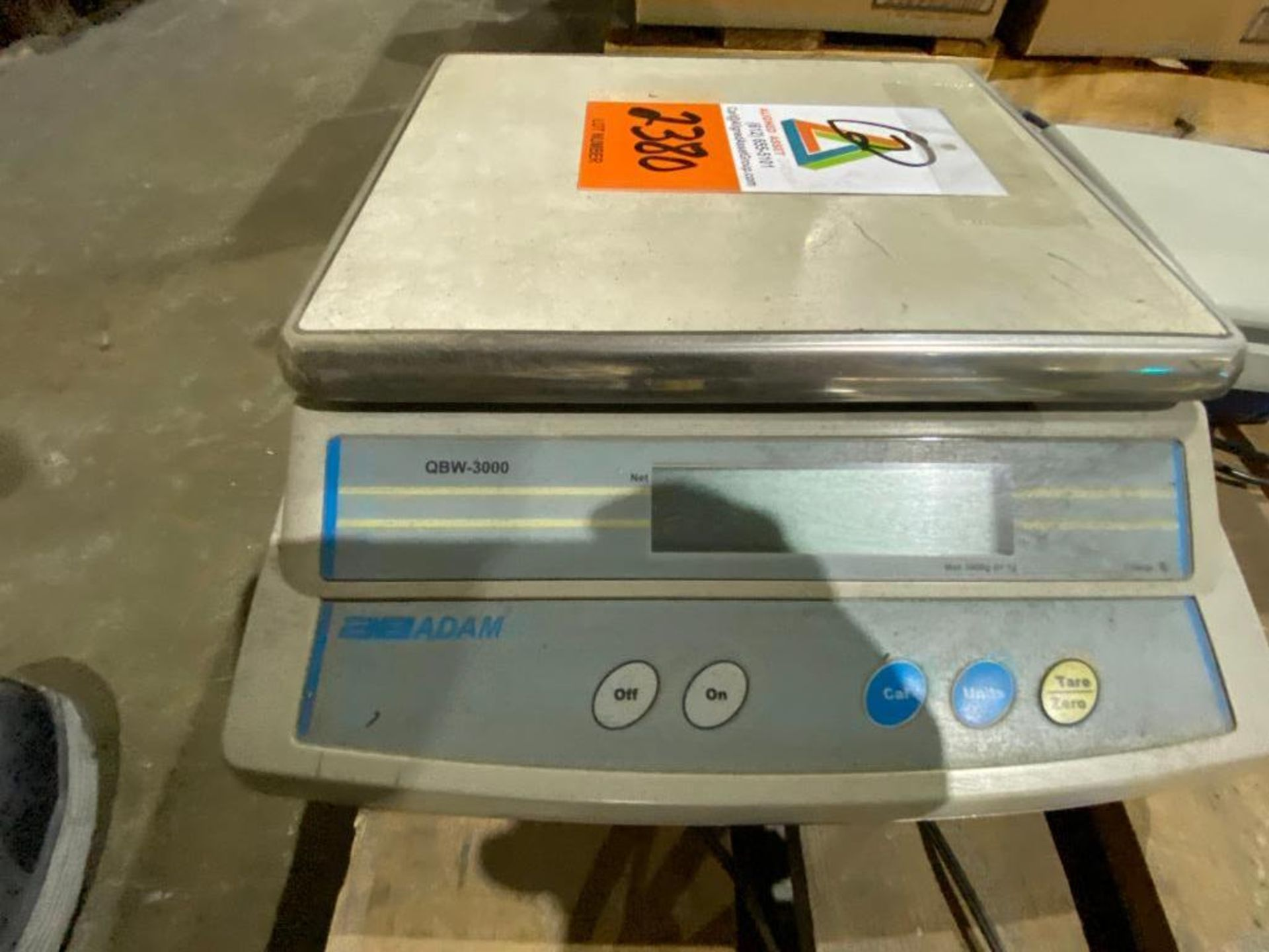 Adam digital scale, Pelouze digital scale - Image 2 of 6