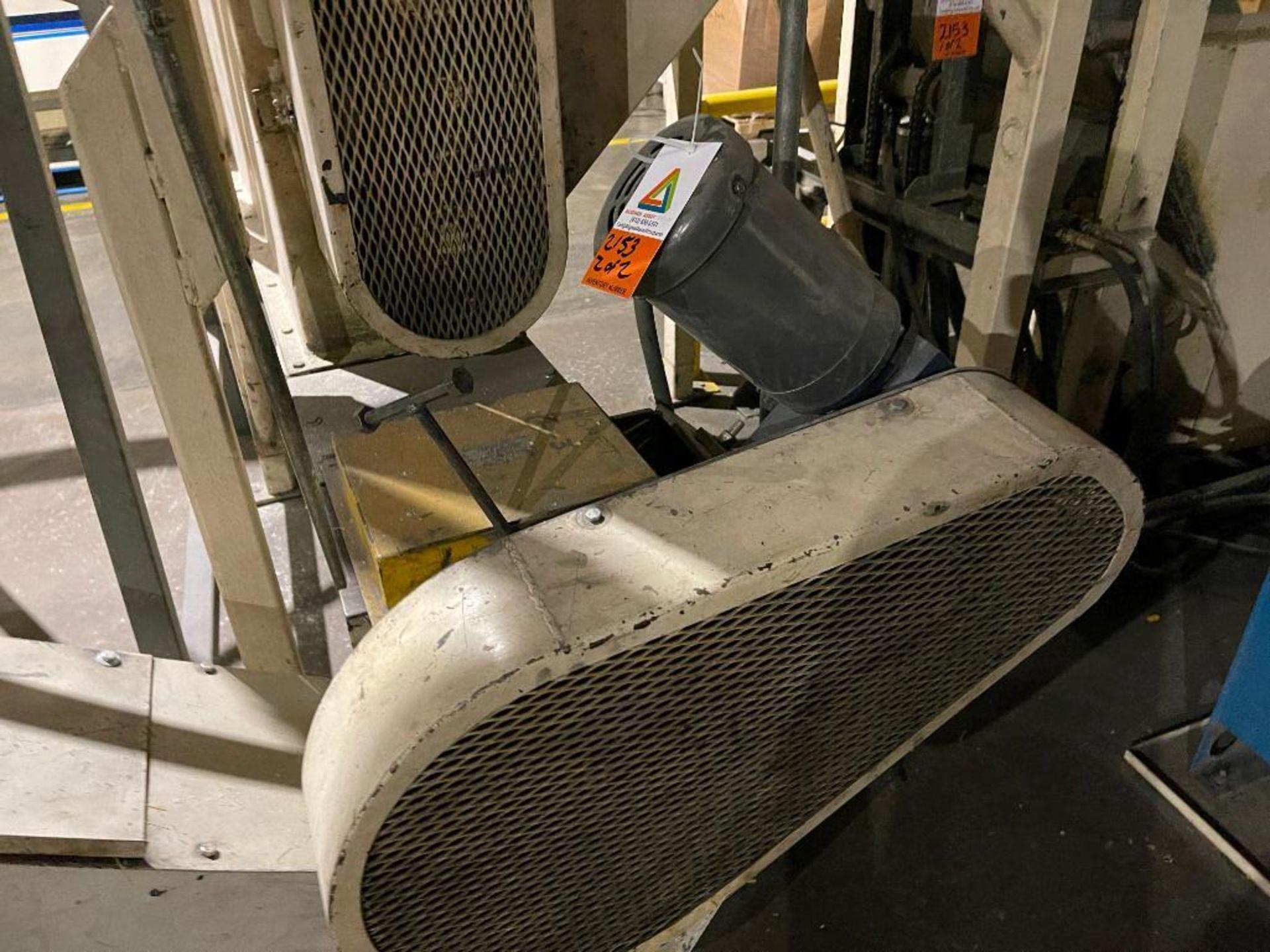 mild steel hopper, chisel bottom, screw auger - Image 6 of 12