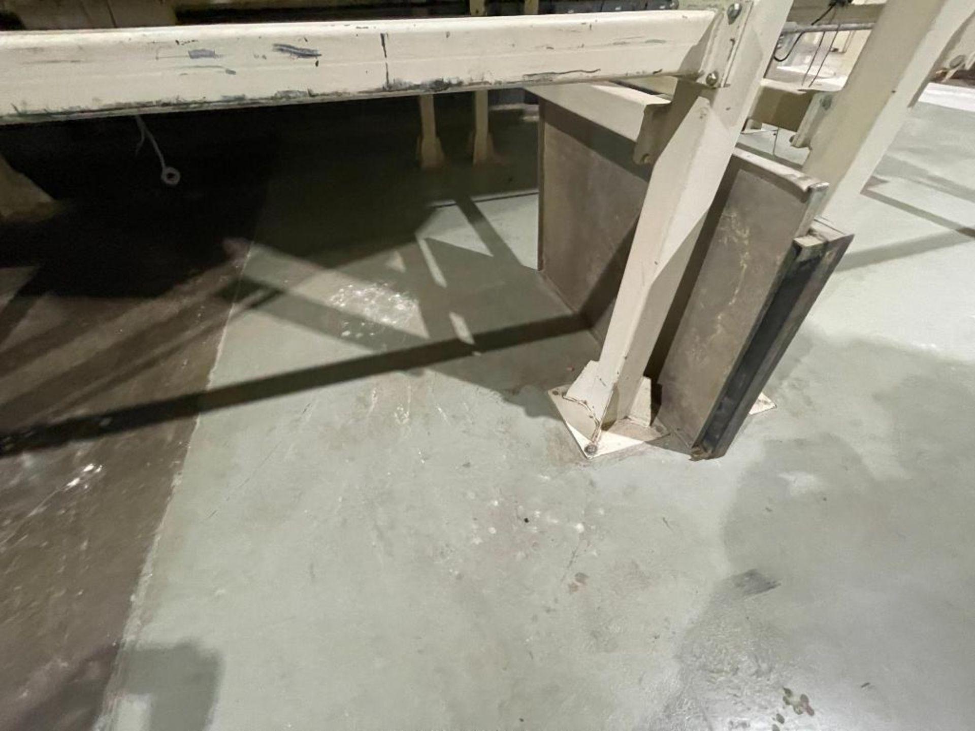 Aseeco mild steel cone bottom bulk storage bin - Image 6 of 31
