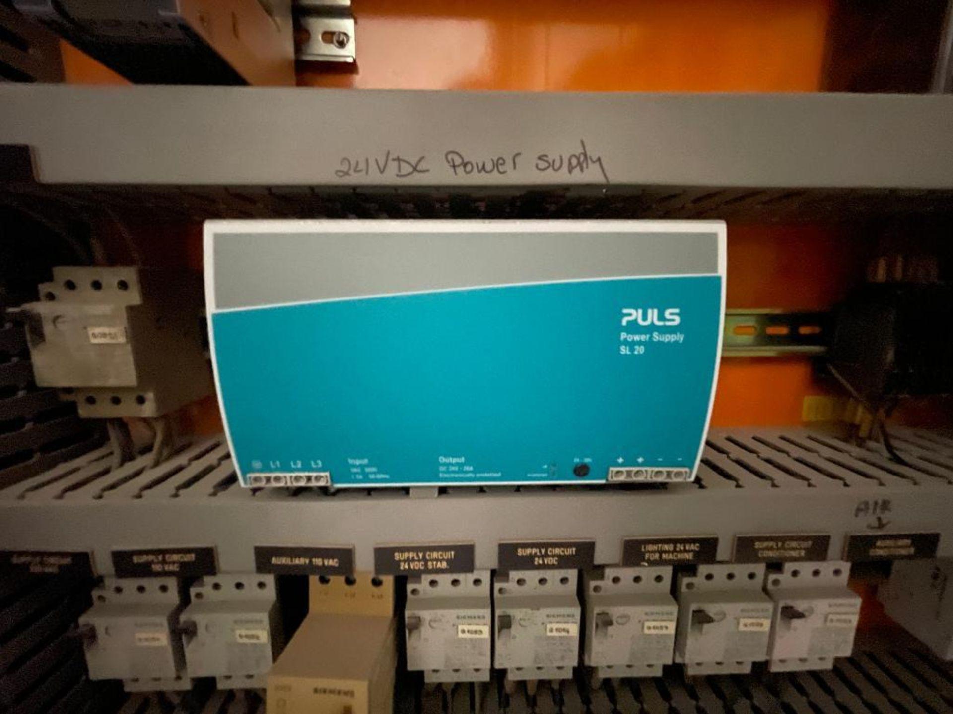 7-door mild steel air conditioned control cabinet, 5-VFD's - Image 13 of 43
