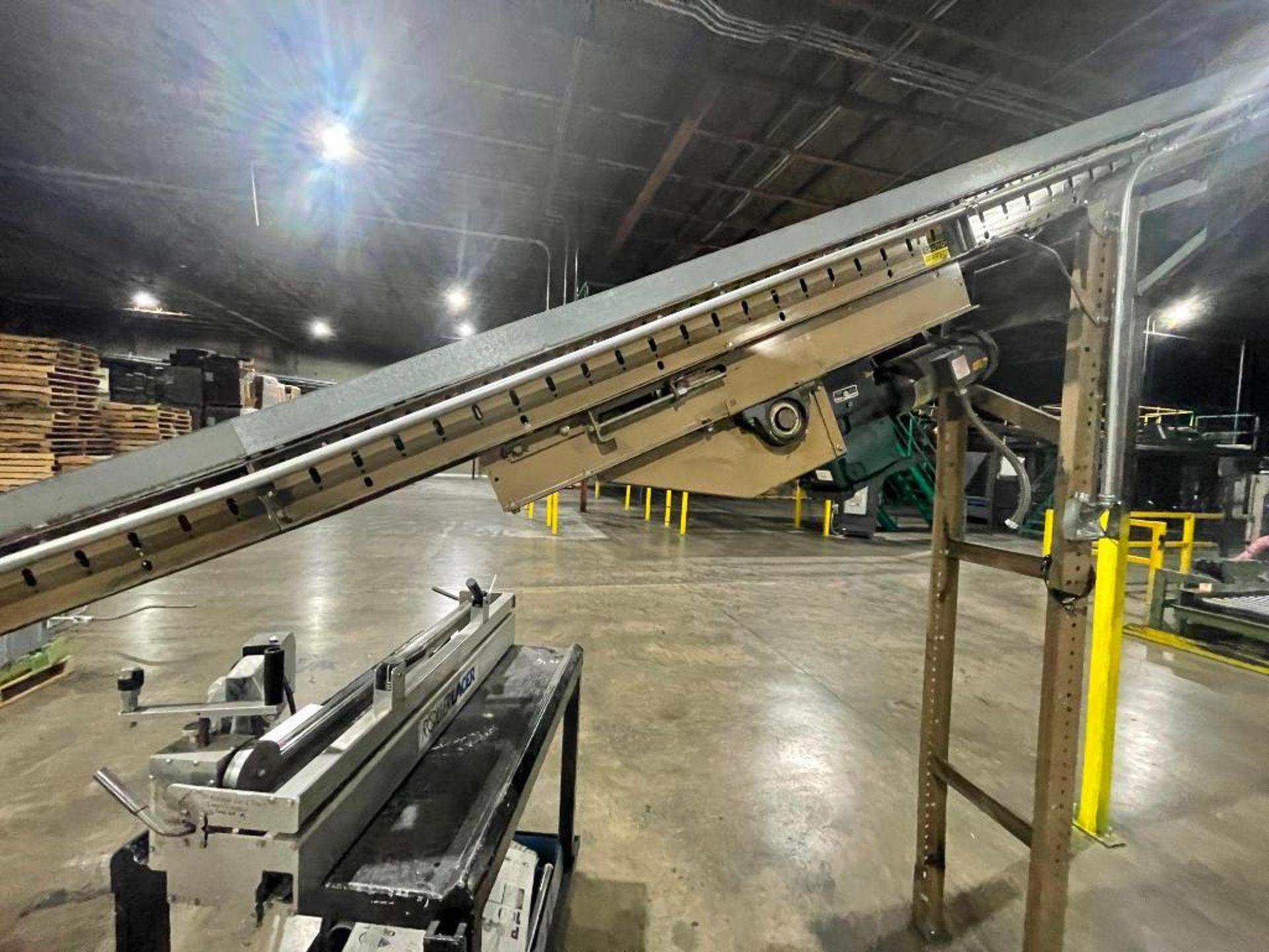 Buschman mild steel incline conveyor - Image 5 of 11