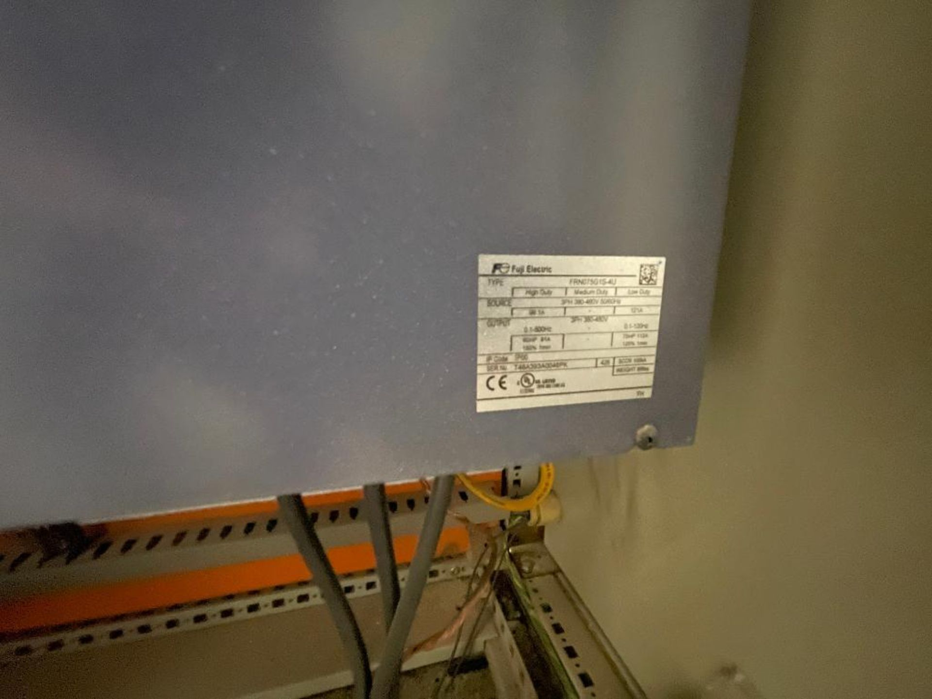 7-door mild steel air conditioned control cabinet, 5-VFD's - Image 10 of 43