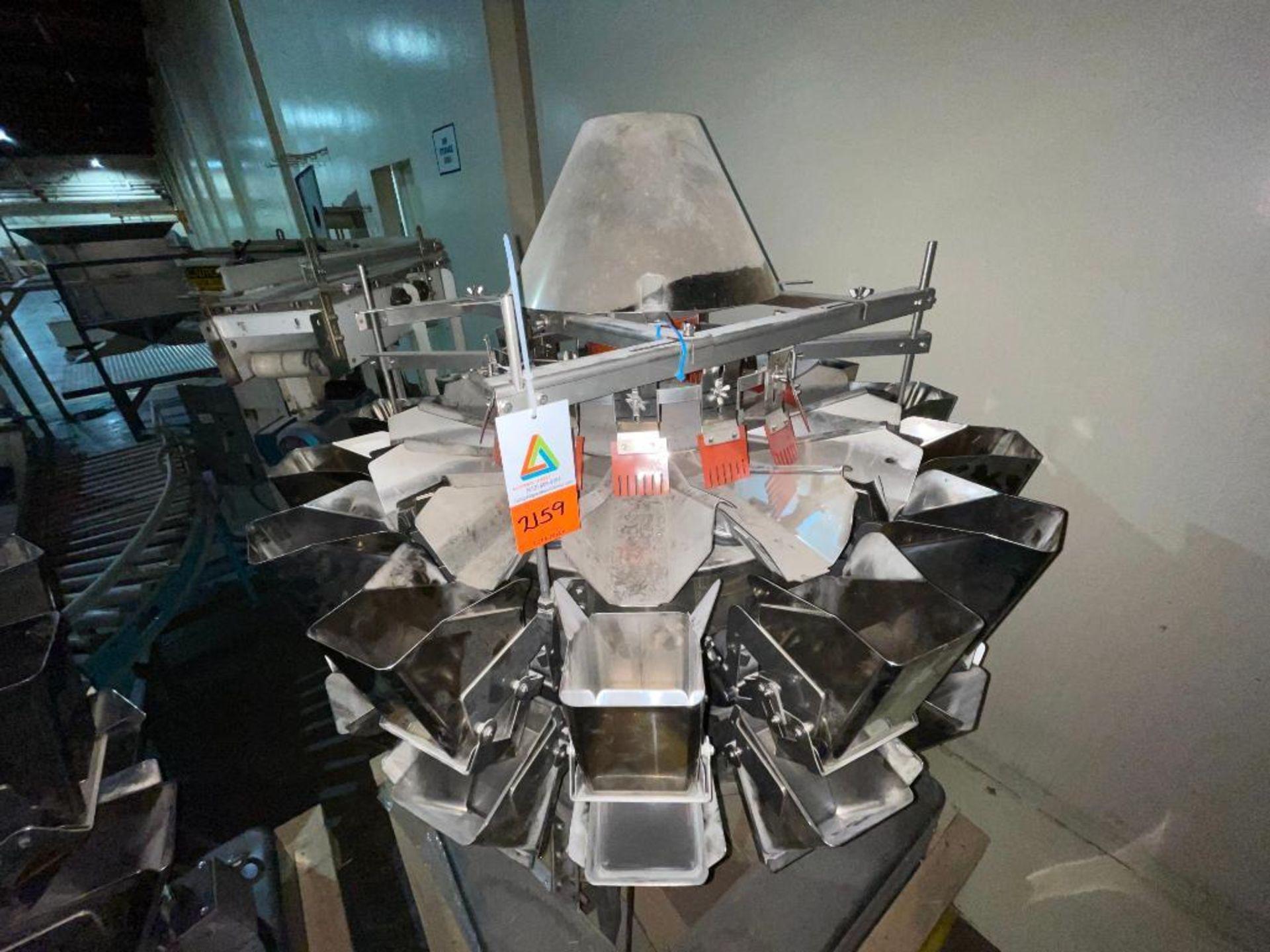 1999 Ishida scale, 14-head - Image 3 of 13