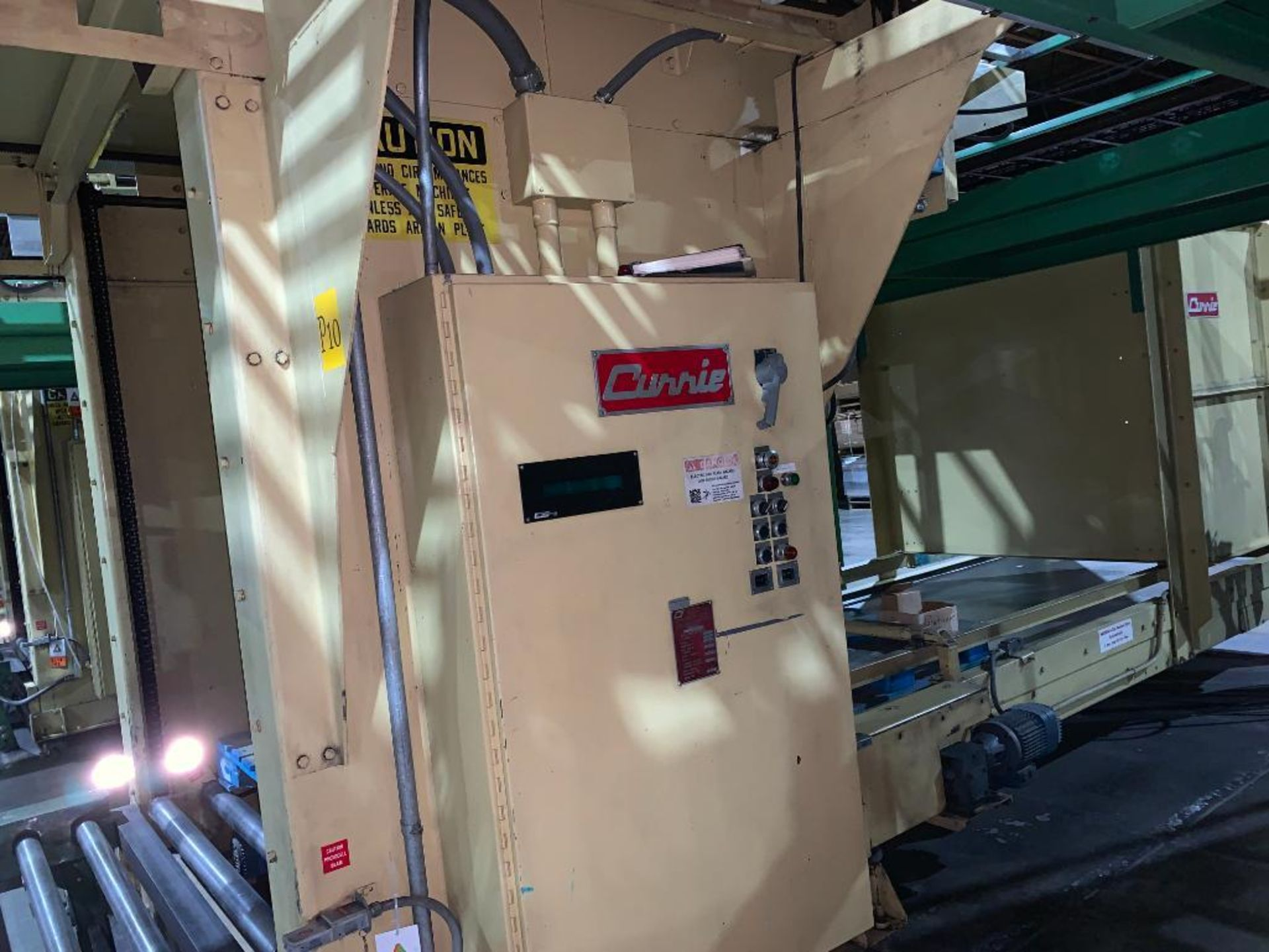 1992 Currie top to bottom palletizer, machine number LSP-5-1176 - Image 5 of 56