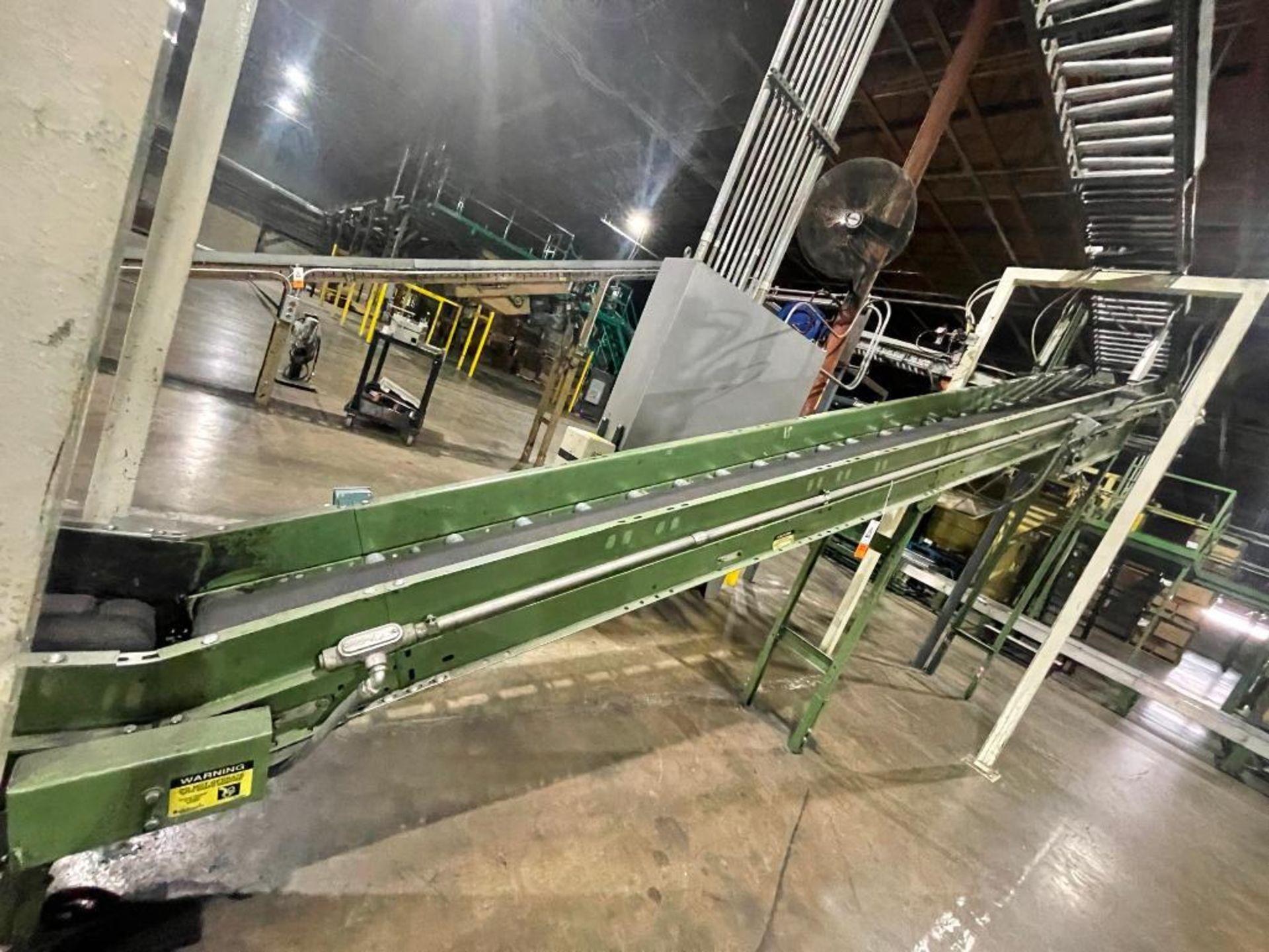 Buschman mild steel incline conveyor - Image 3 of 17