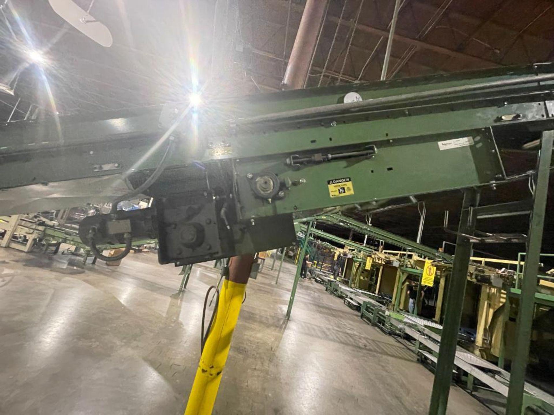Buschman mild steel incline conveyor - Image 9 of 15