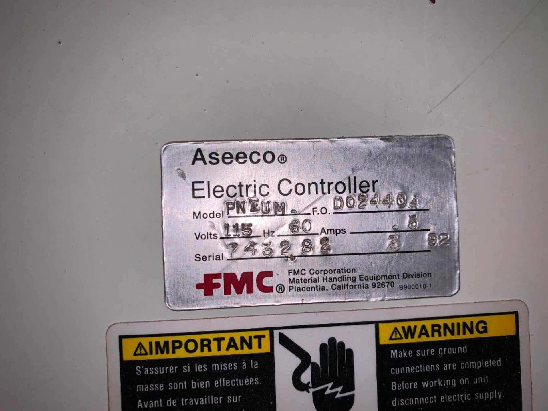 Aseeco mild steel cone bottom bulk storage bin - Image 20 of 23