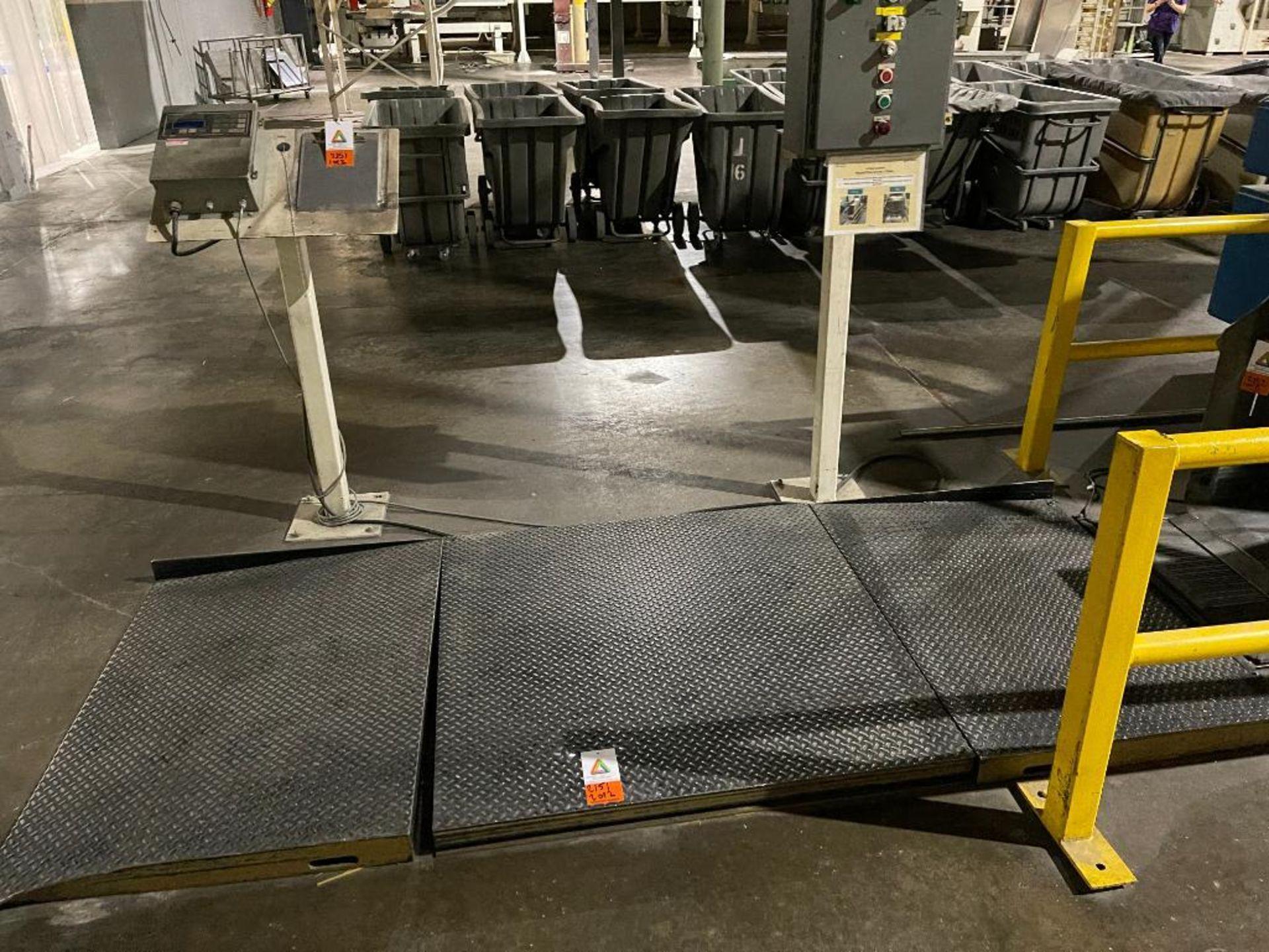 Flex-Weigh 4 ft. x 4 ft. platform scale