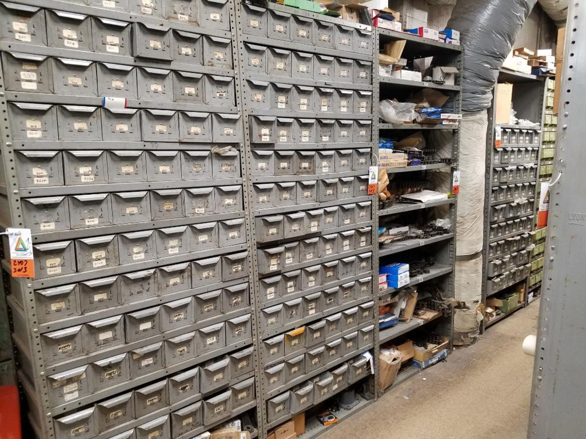 all shelving and storage units located in MRO room - Image 4 of 11