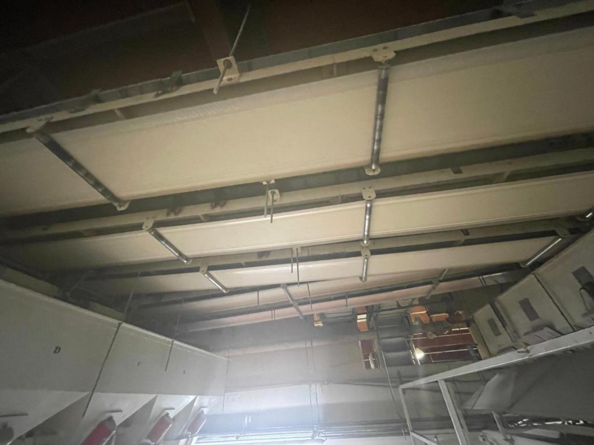 5 overhead conveyors, white rubber belt - Image 8 of 9