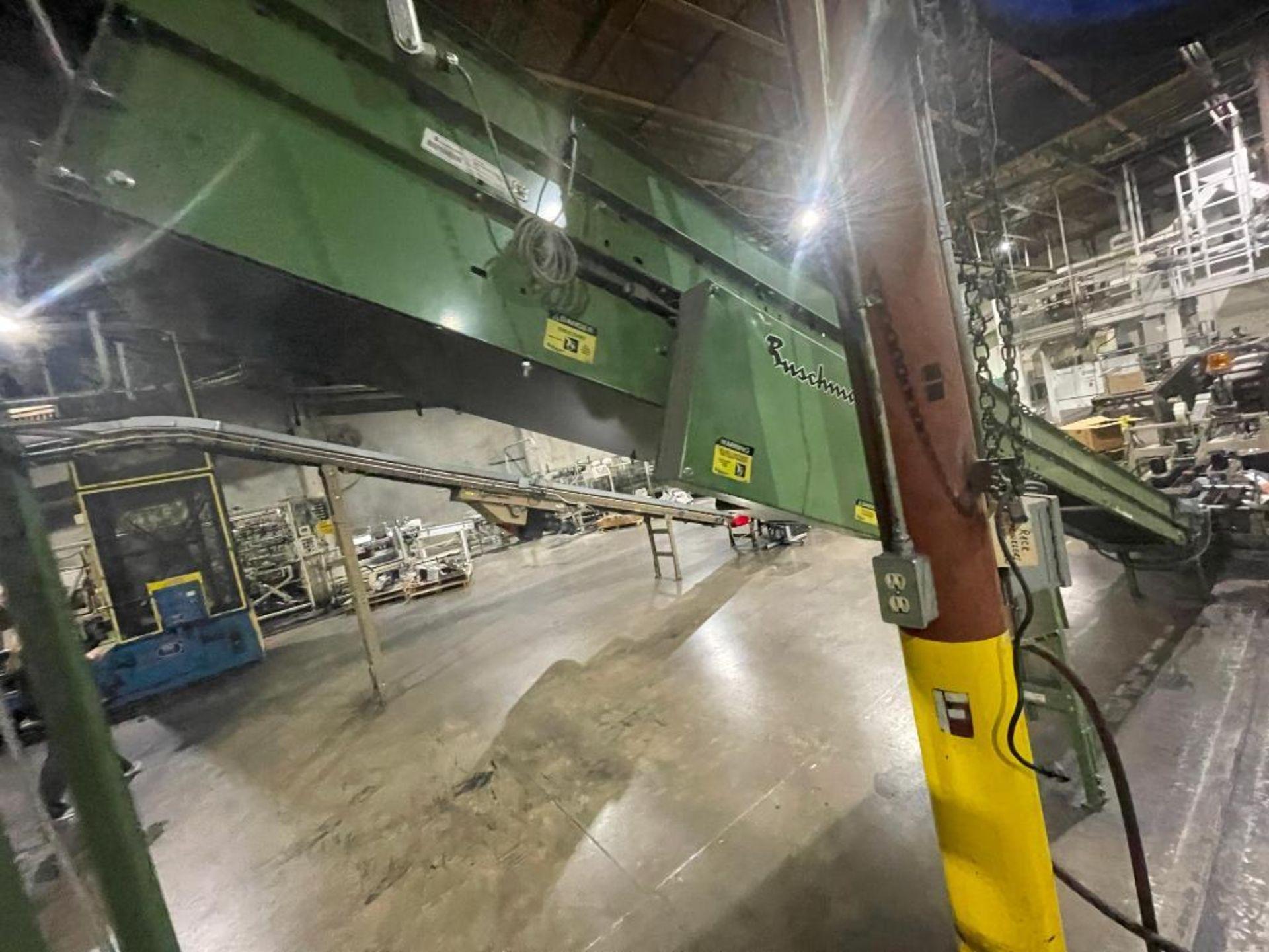 Buschman mild steel incline conveyor - Image 5 of 15