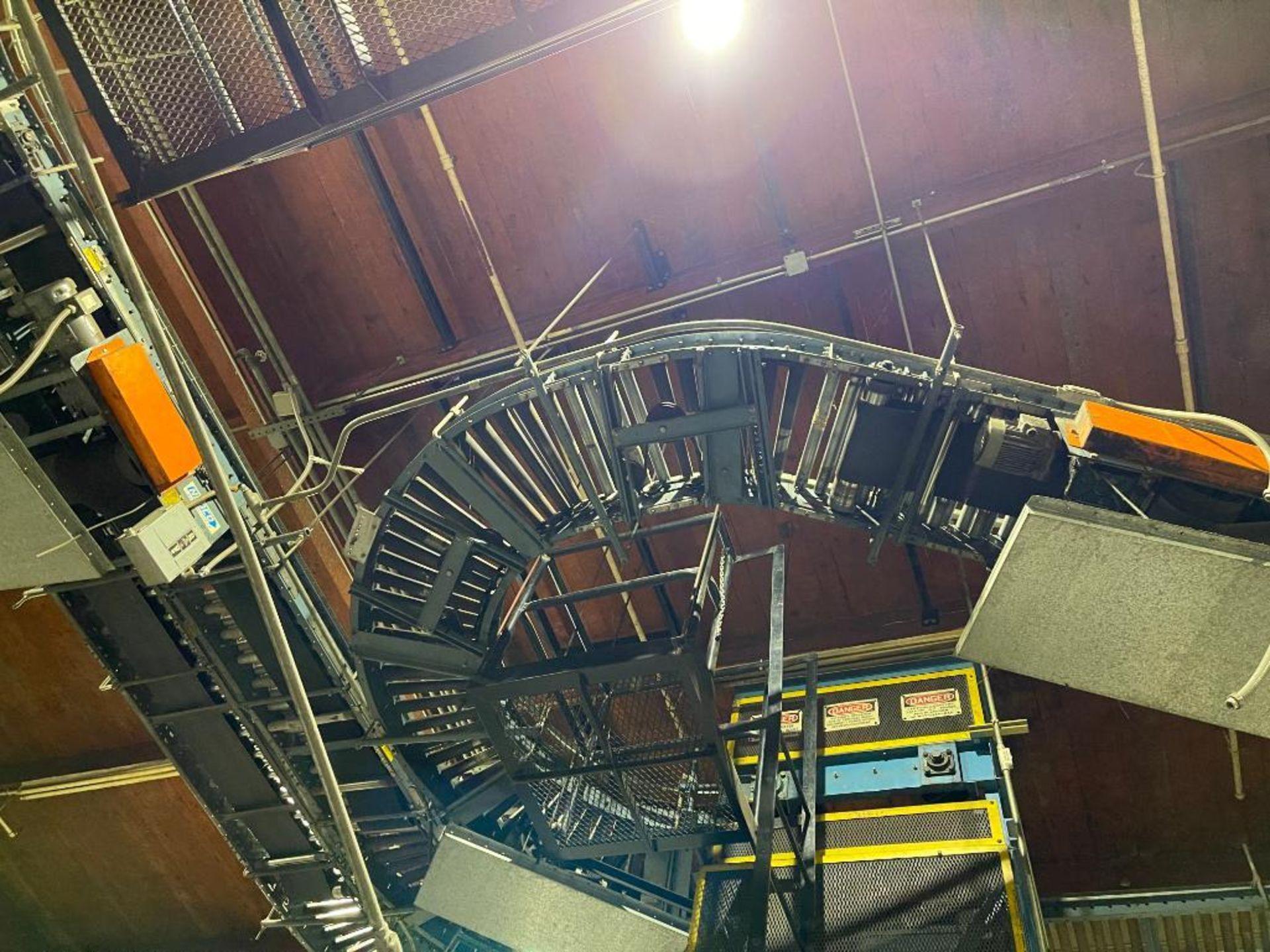 overhead power case conveyor - Image 6 of 9