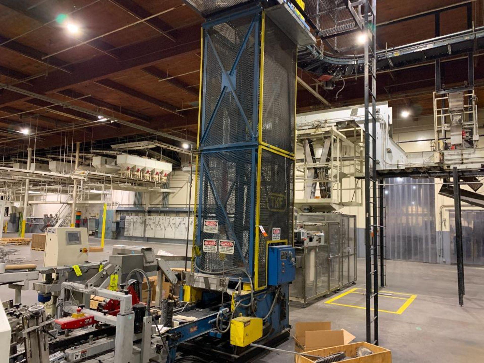TKF vertical case elevator
