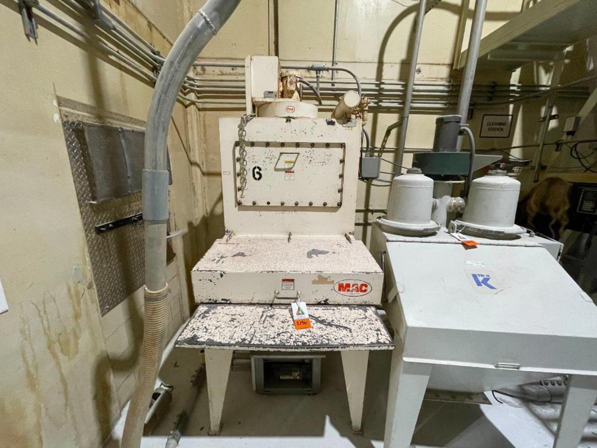 MAC dry ingredients dump station