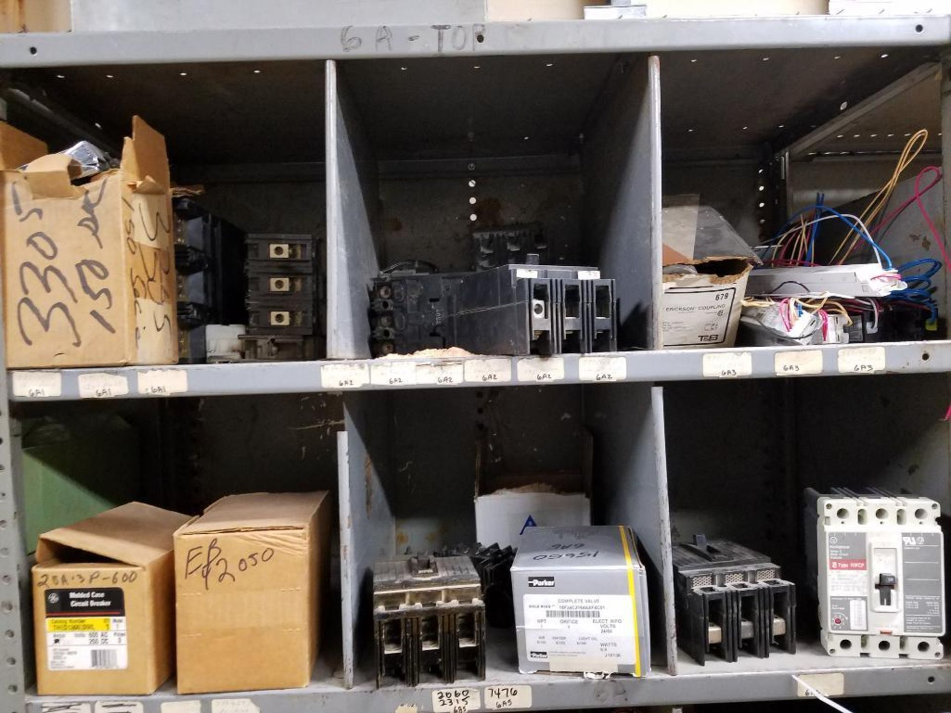 various electrical components, shelving not included - Image 2 of 5