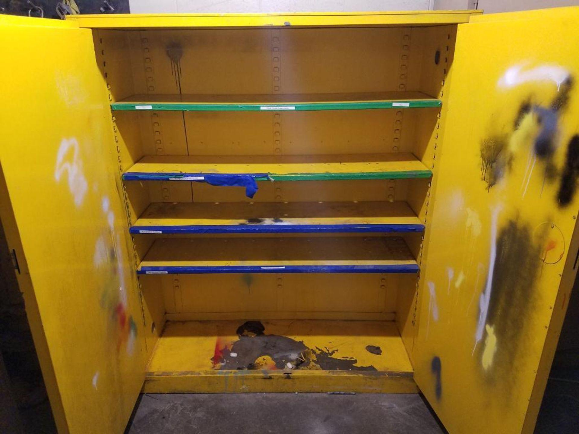 Protectoseal 2-door flammable cabinet - Image 2 of 3