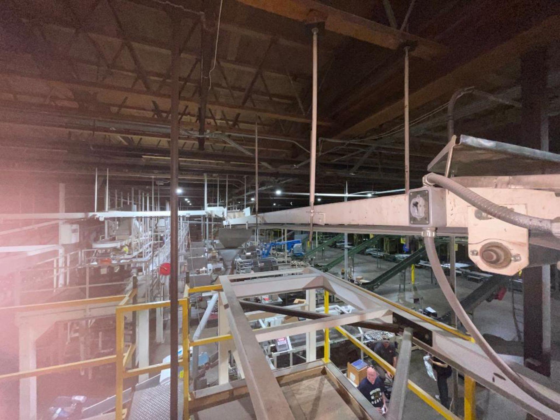 mild steel overhead belt conveyor - Image 5 of 10