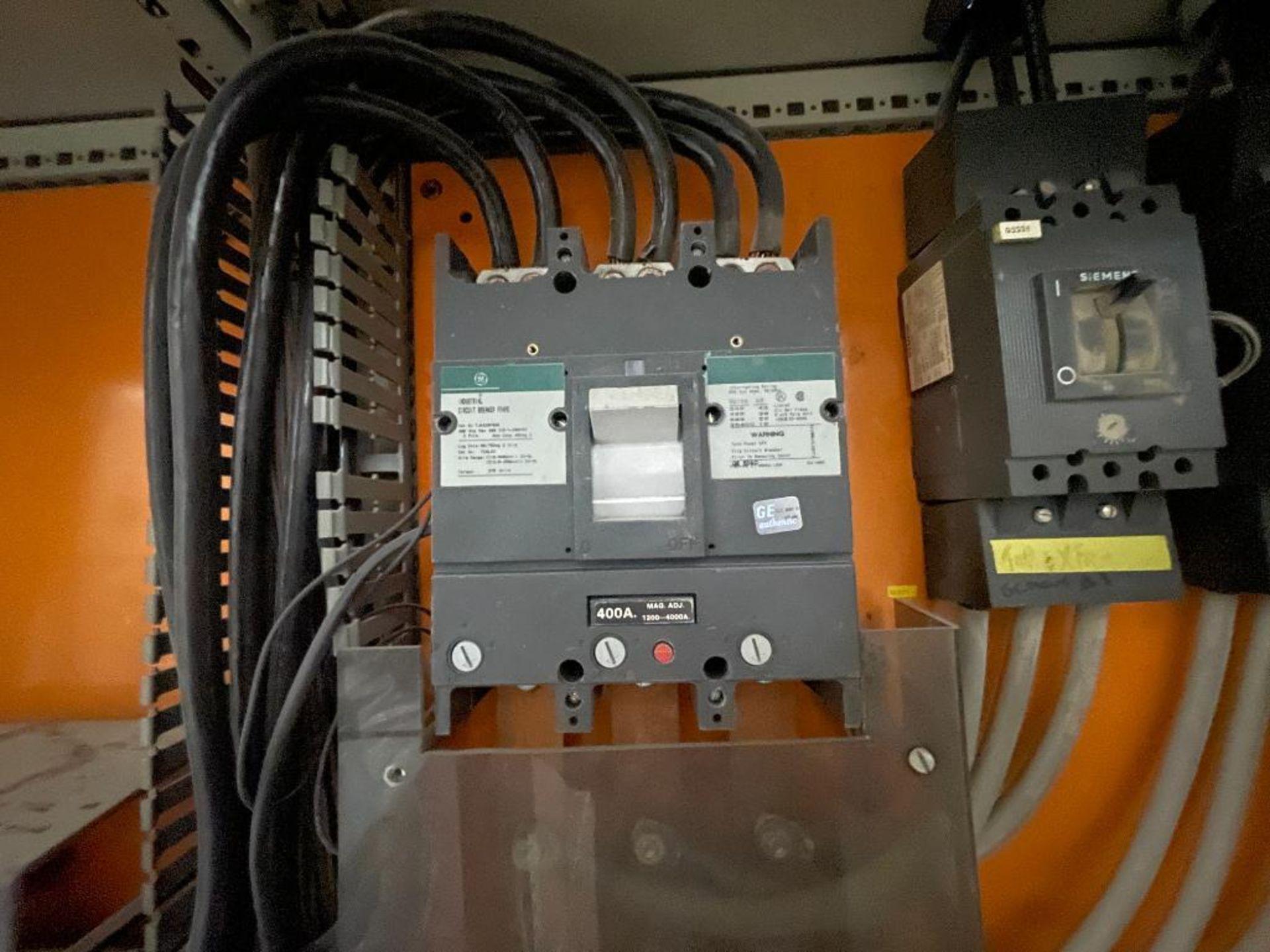 7-door mild steel air conditioned control cabinet, 5-VFD's - Image 19 of 43